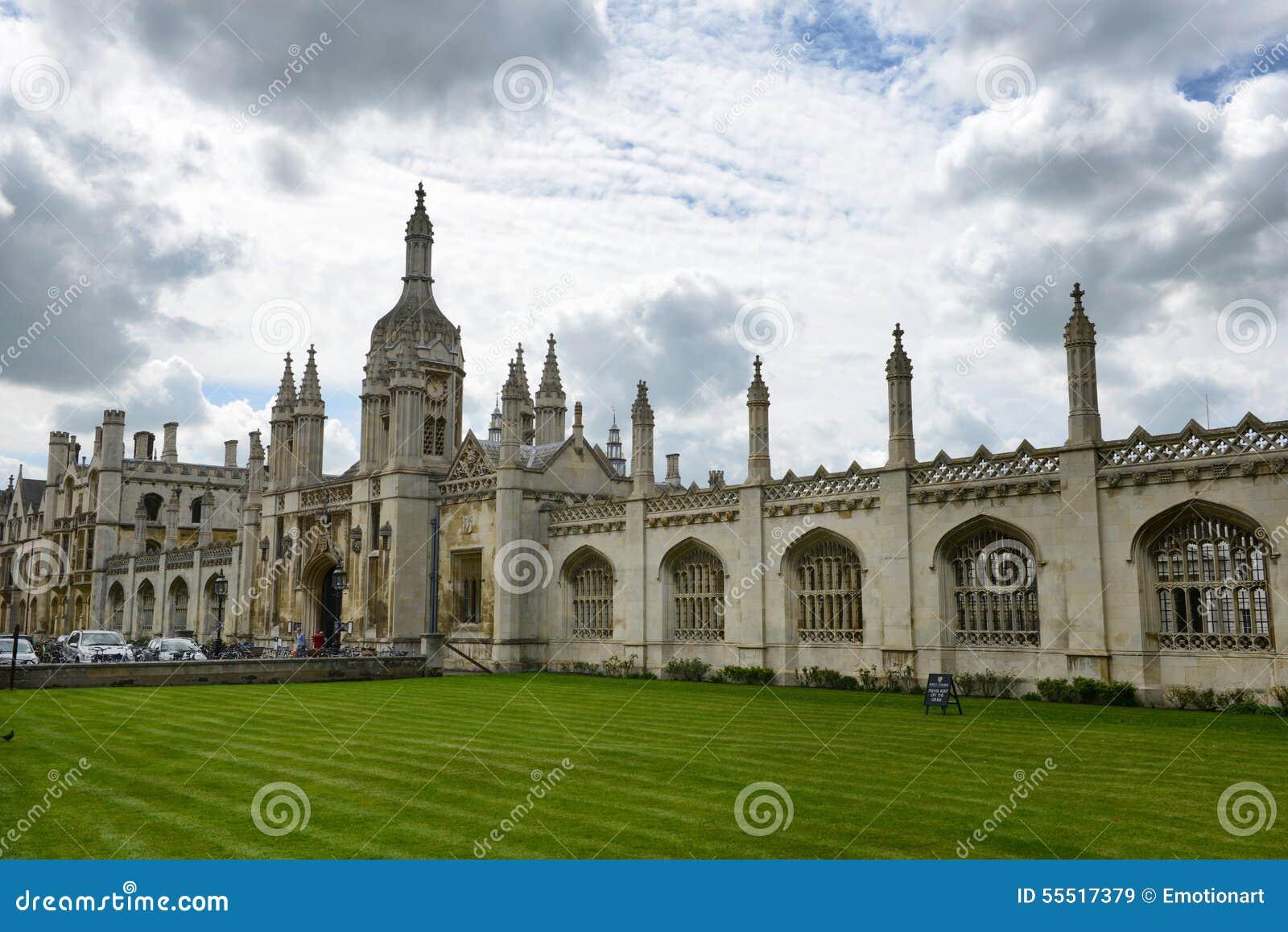 Fachada dos reis Faculdade Capela, U de Cambridge