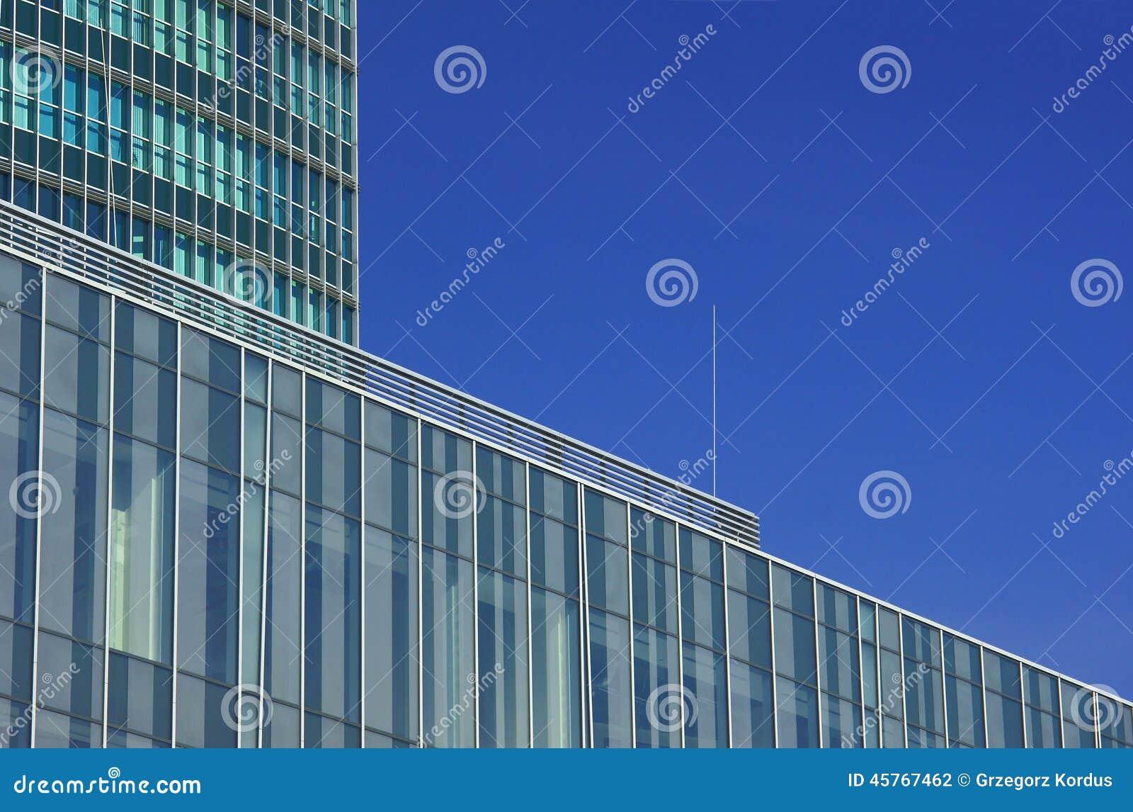 Fachadas de edificios modernos foto de archivo imagen for Fachadas edificios modernos