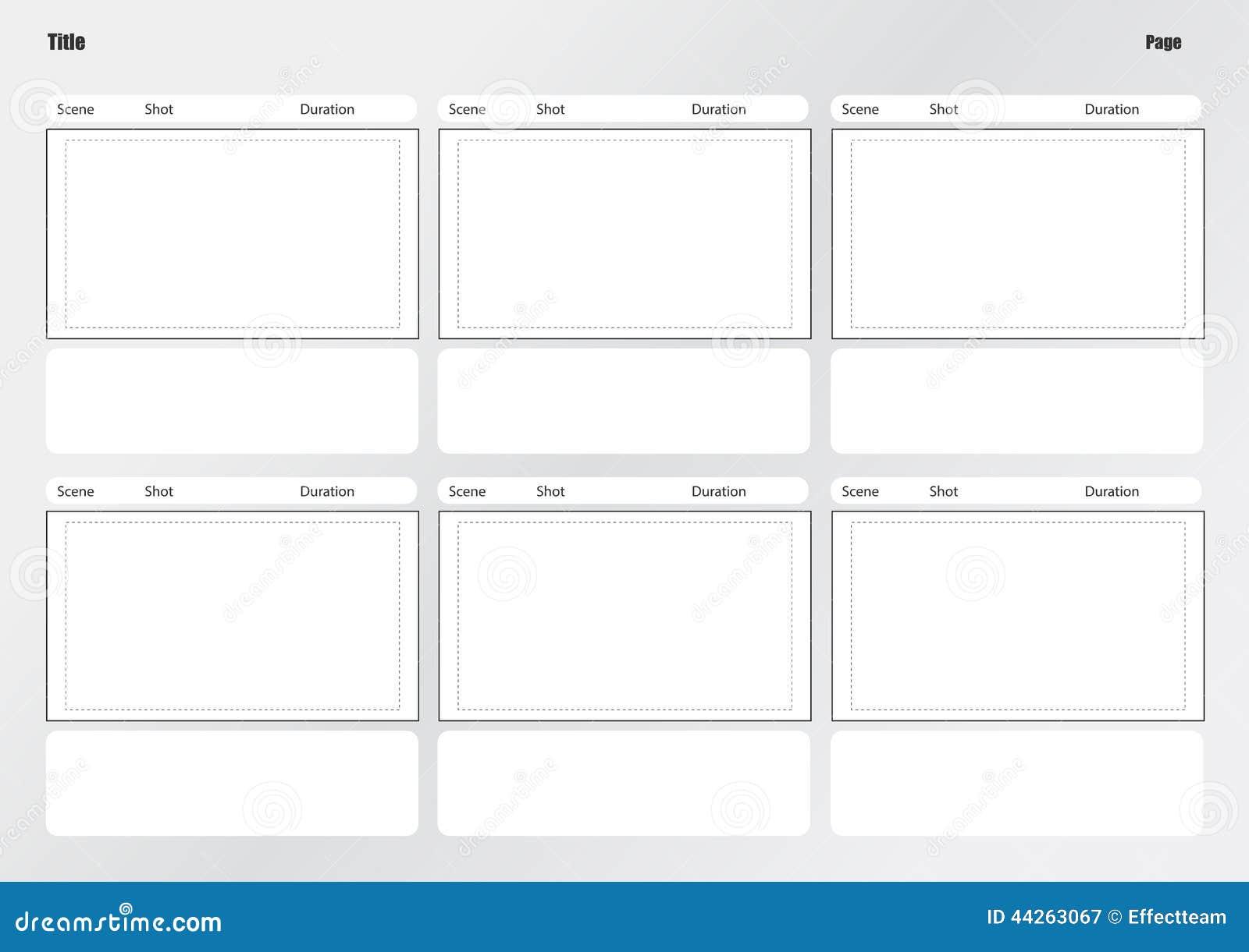 Ausgezeichnet Kurzfilm Storyboard Vorlage Zeitgenössisch - Beispiel ...