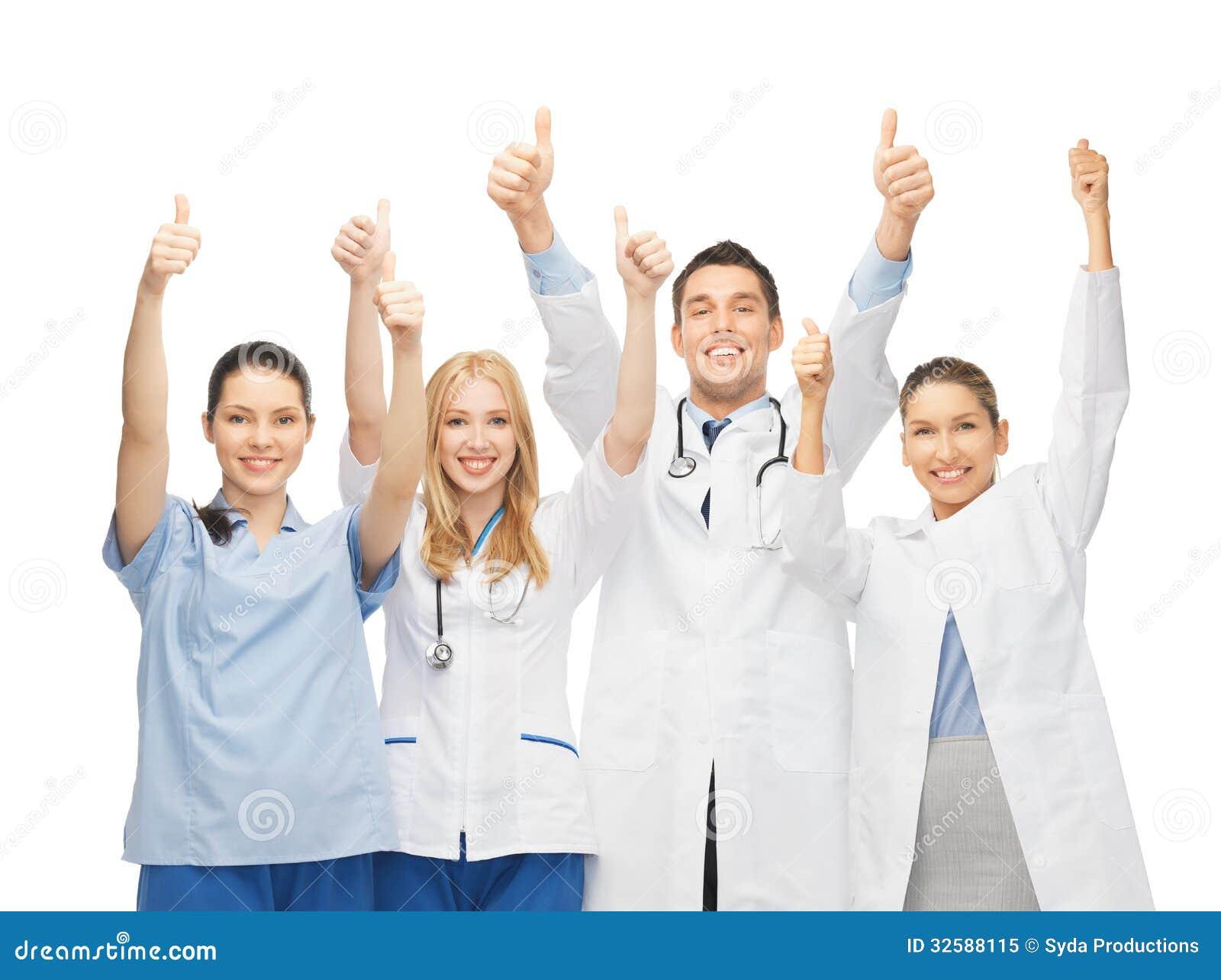 Fachowi potomstwa drużyna lub grupa lekarki