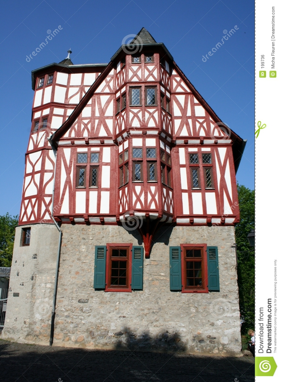 Fachwerk House Royalty Free Stock Image