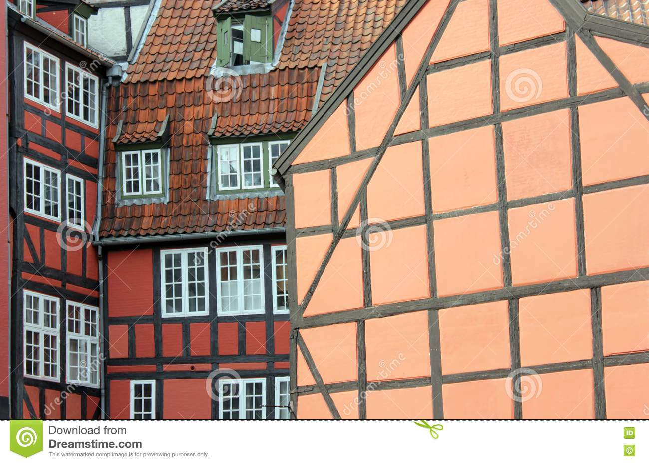 Fachwerk houses royalty free stock photo image 25120115 for Fachwerk 3d