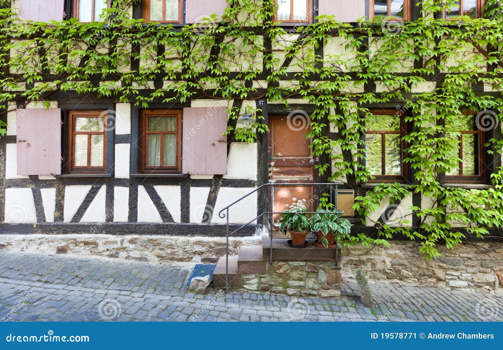 Fachwerk and vines stock image image 19578771 for 3d fachwerk