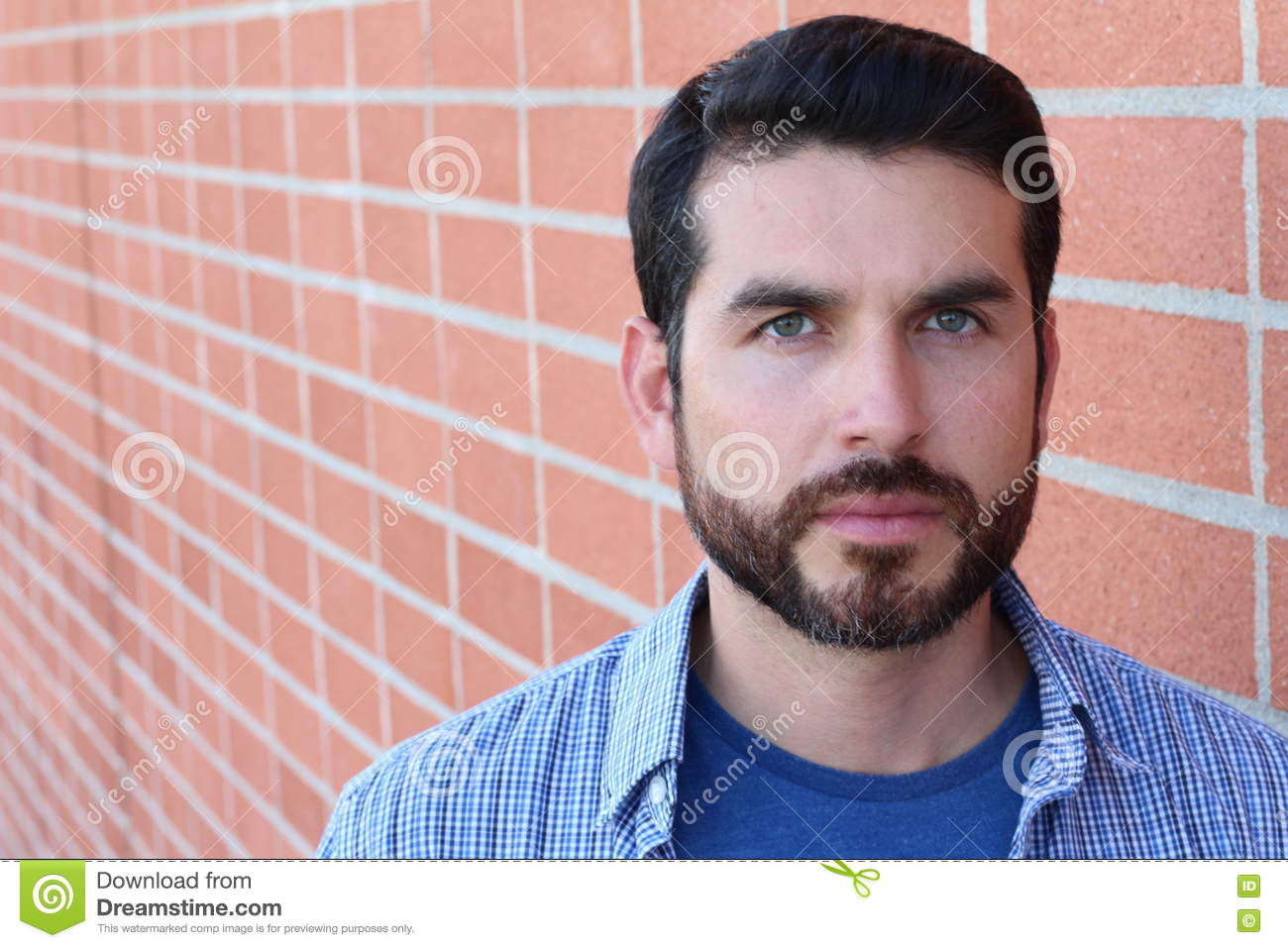 Fine Facial Close Up Of An Attractive Man Face Royalty Free Stock Image Hairstyles For Men Maxibearus