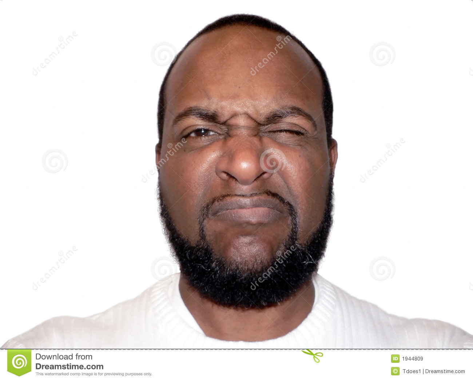 Facial expression - frown