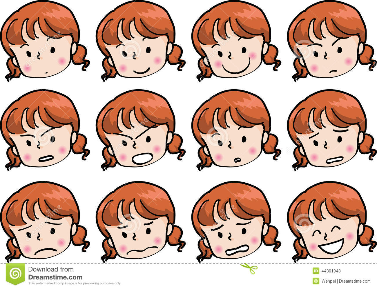 Angry Woman Clip Art  Royalty Free  GoGraph