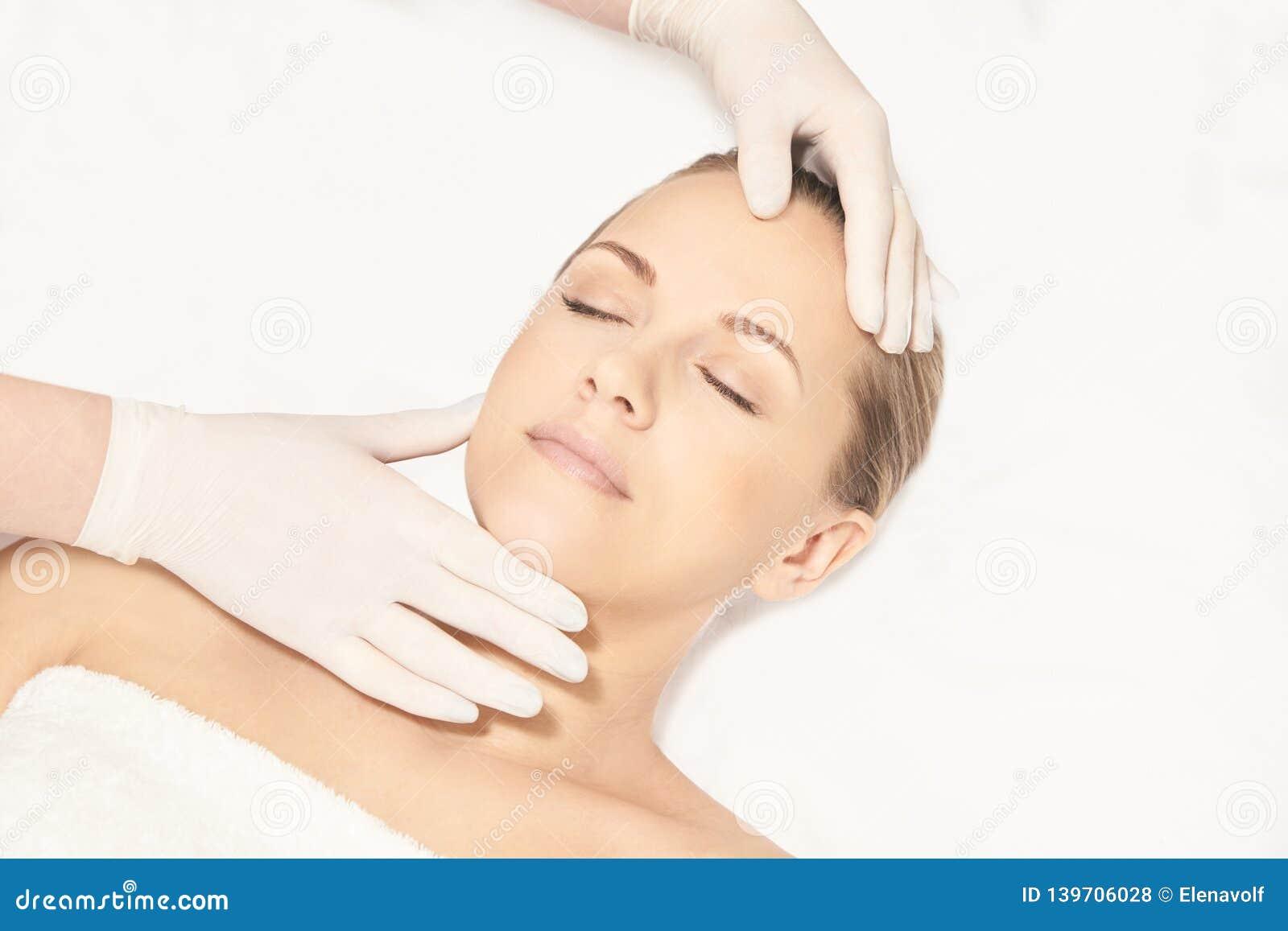 Facial Face Spa Cosmetology Procedure Skin Care Lift Plastic Anti Age Stock Photo Image Of Bowl Liquid 139706028
