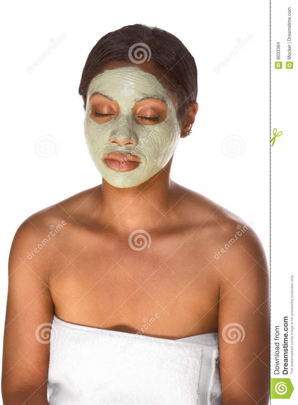 Black girl facial