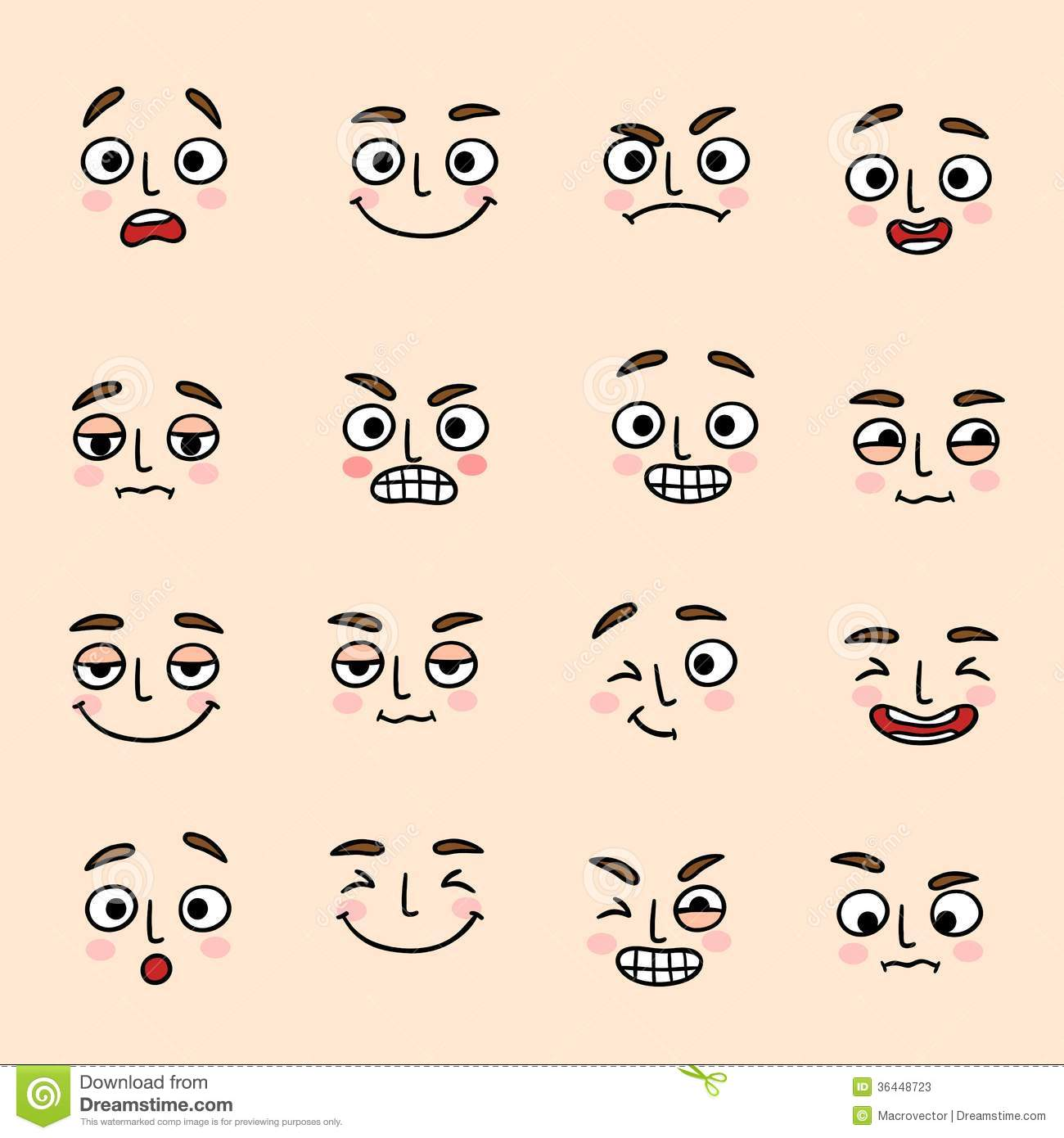 funny smiley icons