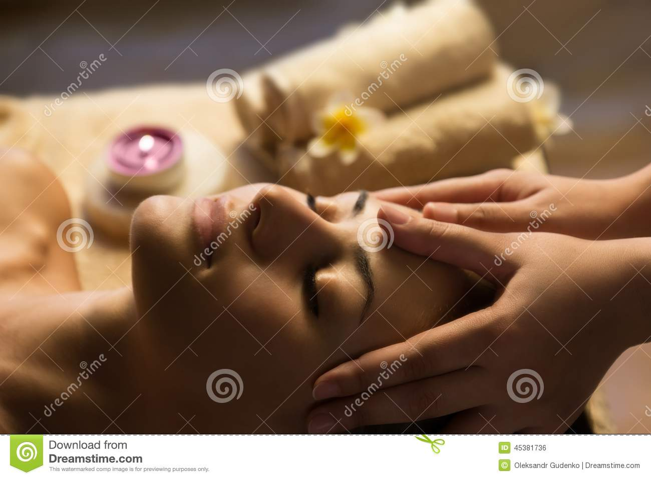 Facial SPA massage