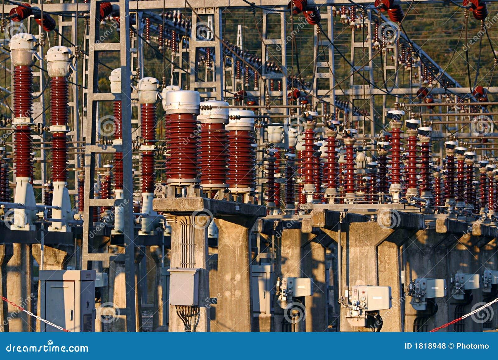 Facilidade da central energética