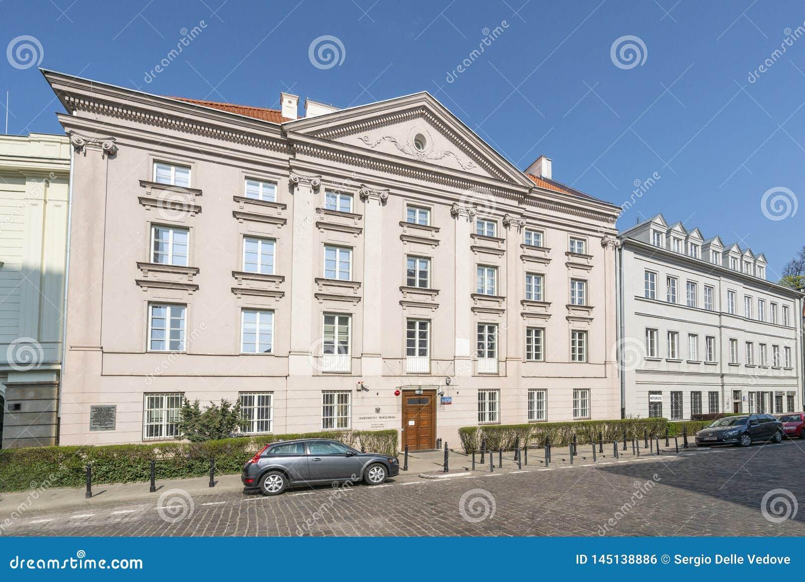 Facolt? delle scienze economiche, universit? di Varsavia