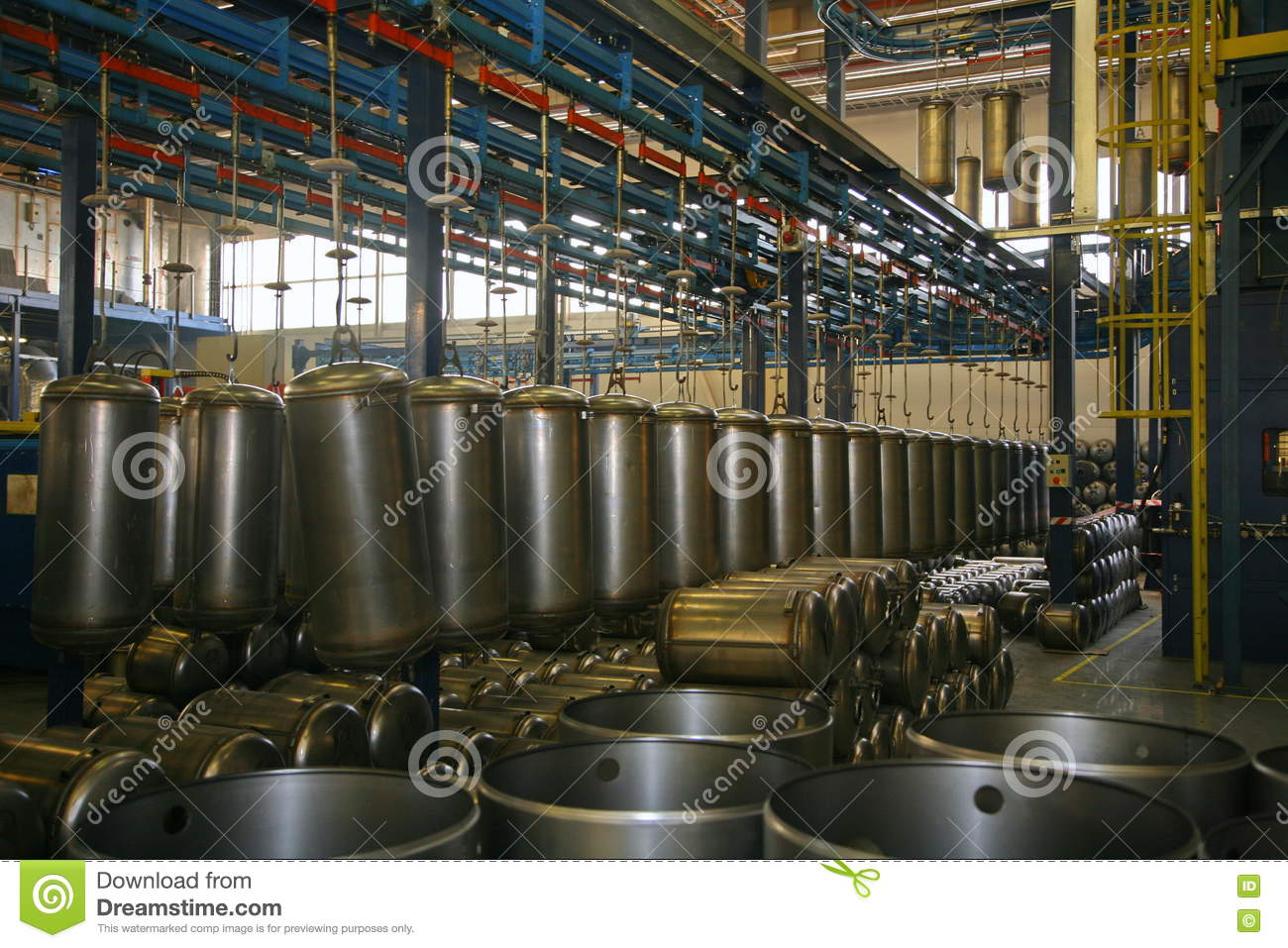 On The Factory Assembly Line Billet Stainless Steel Boiler For ...