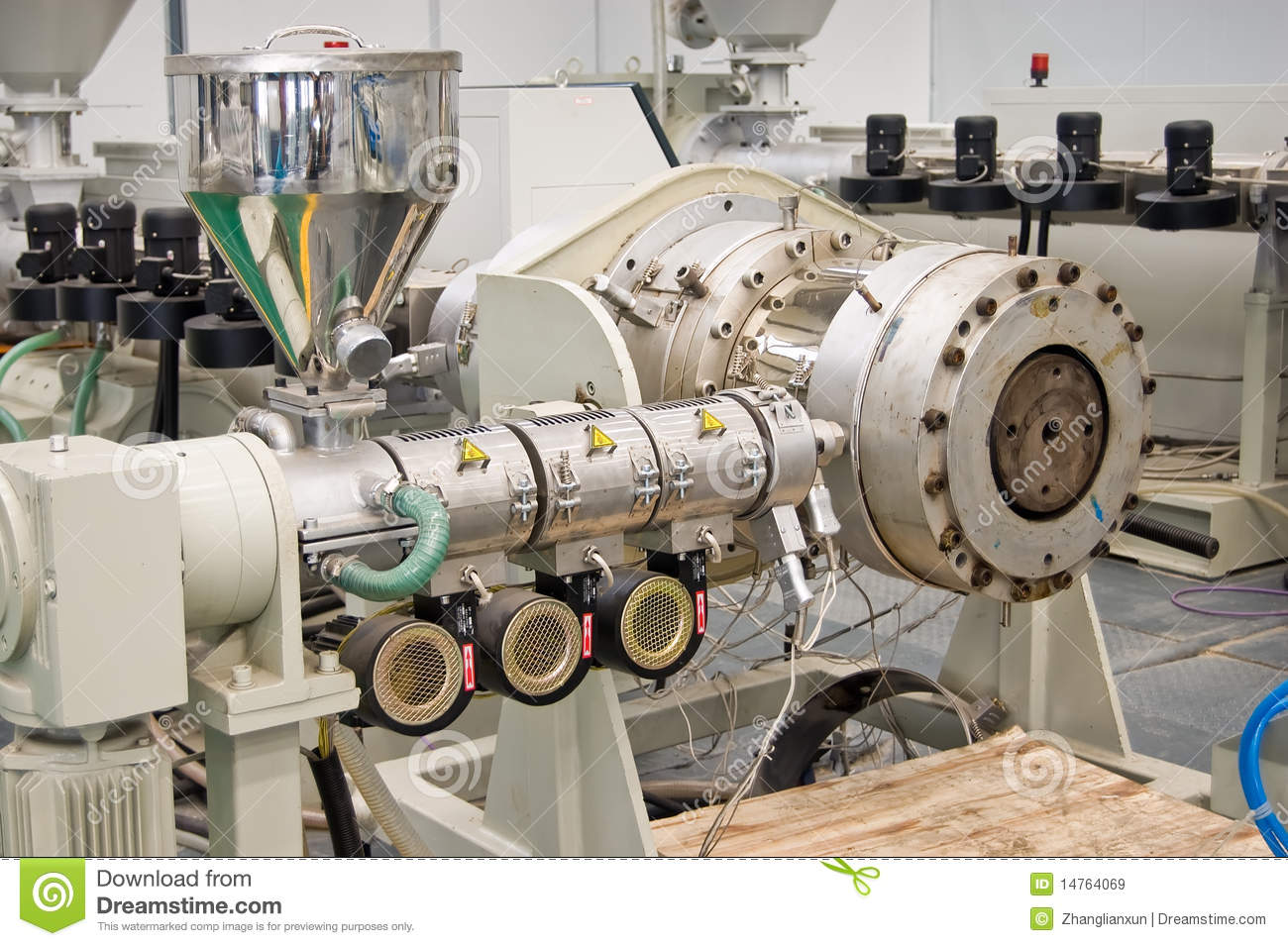 Factory Equipment Royalty Free Stock Images - Image: 14764069