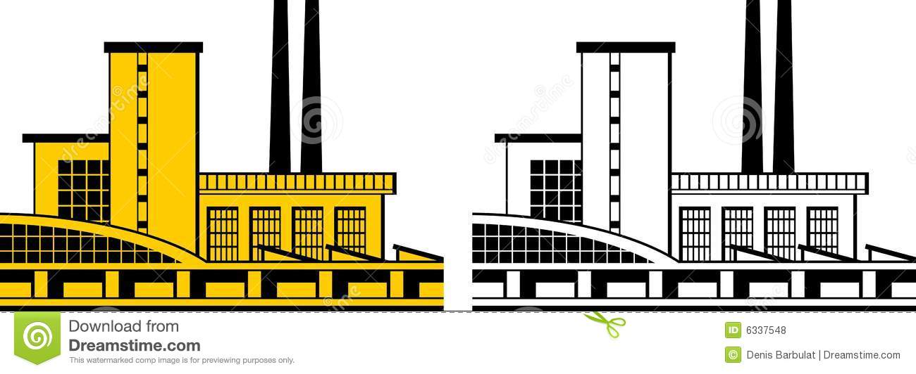 Factory Icon Royalty Free Stock Photos Image 6337548