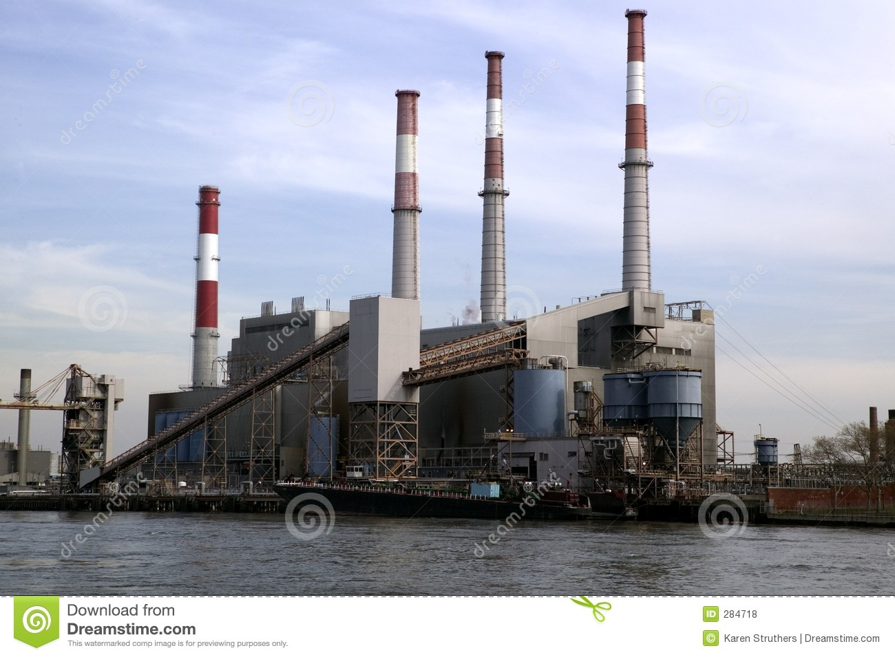 Factory In New York Royalty Free Stock Photos Image 284718