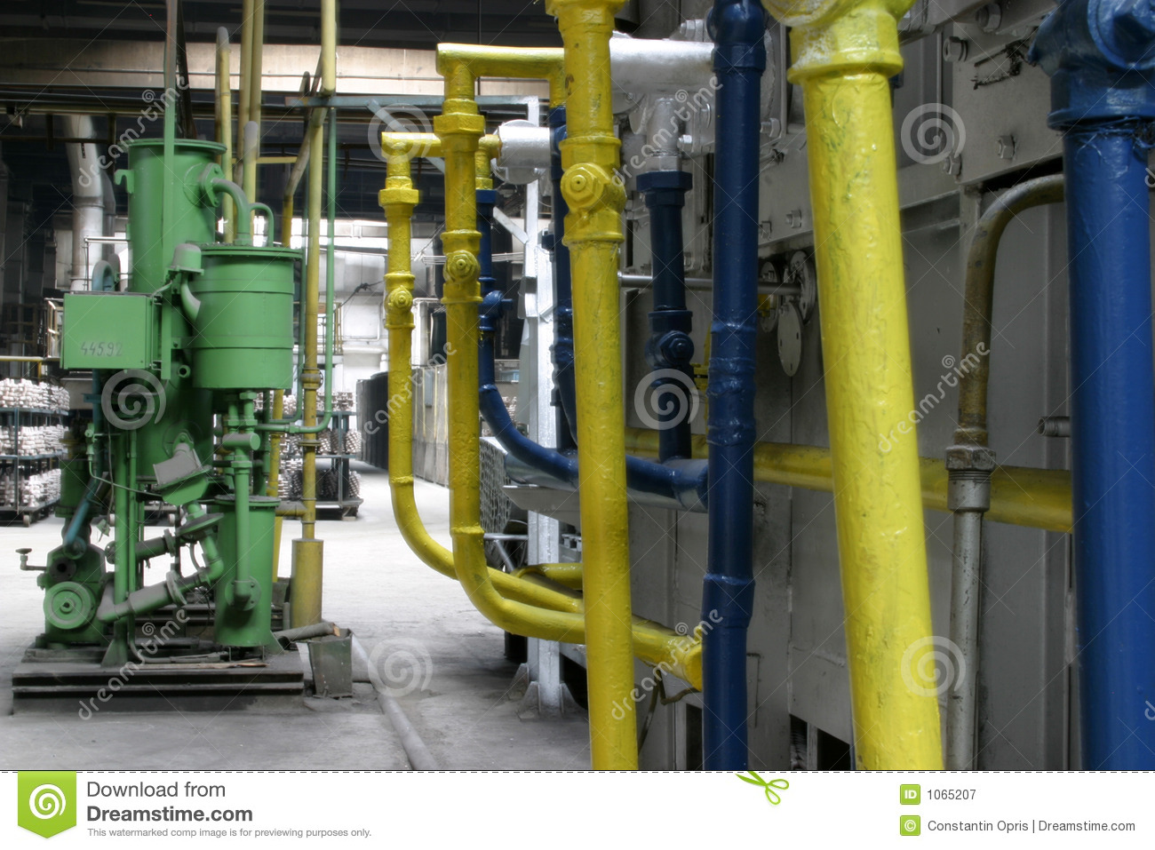 factory pipes royalty free stock photography