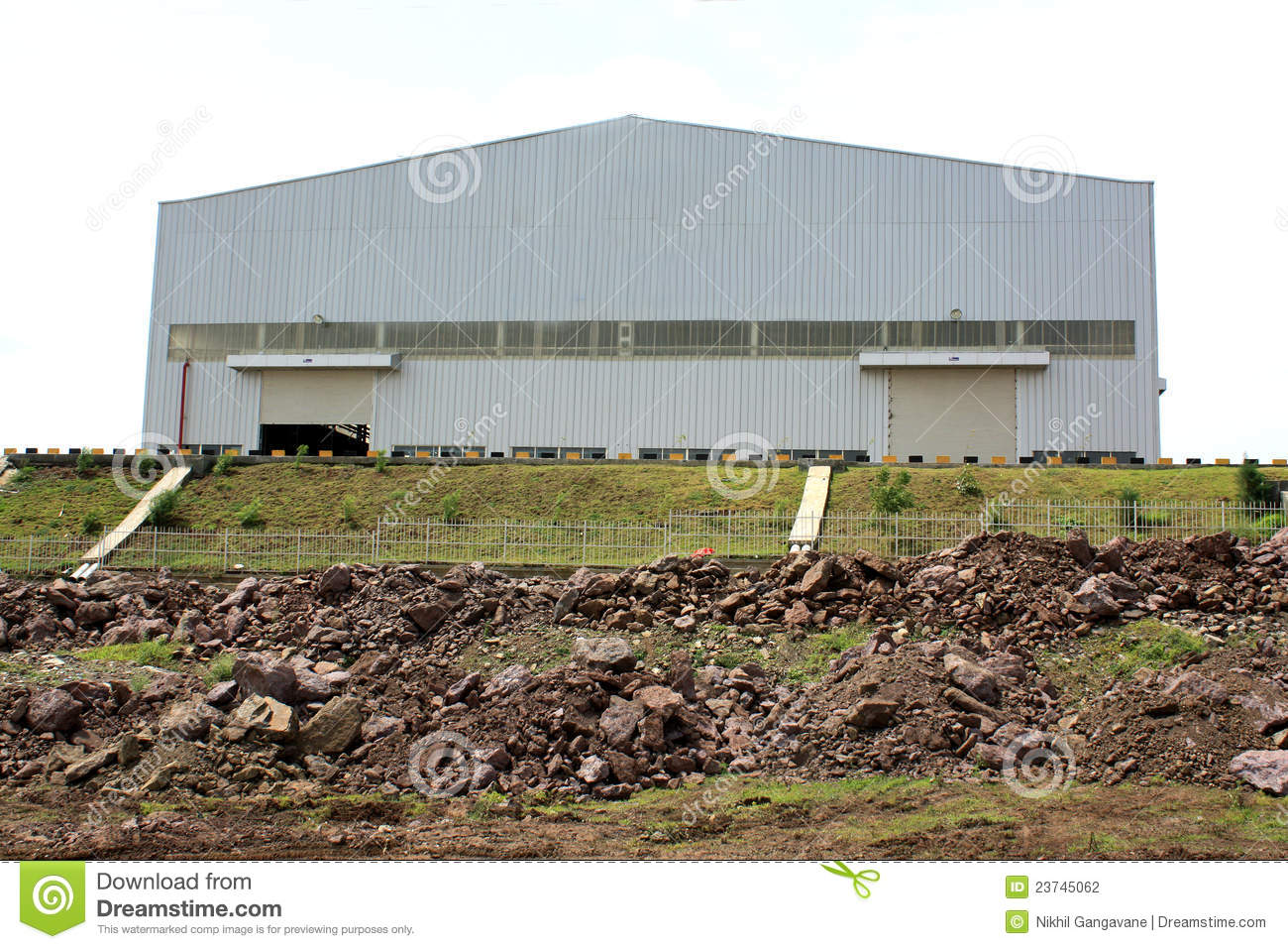 Factory Shed Stock Photo Image Of Hill Industry Design 23745062
