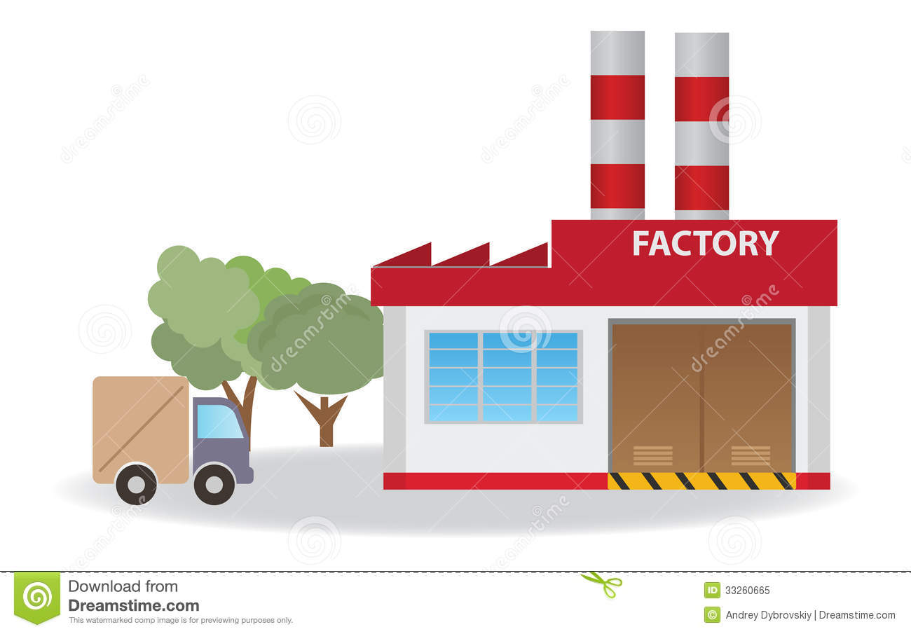 Factory Royalty Free Stock Photo - Image: 33260665