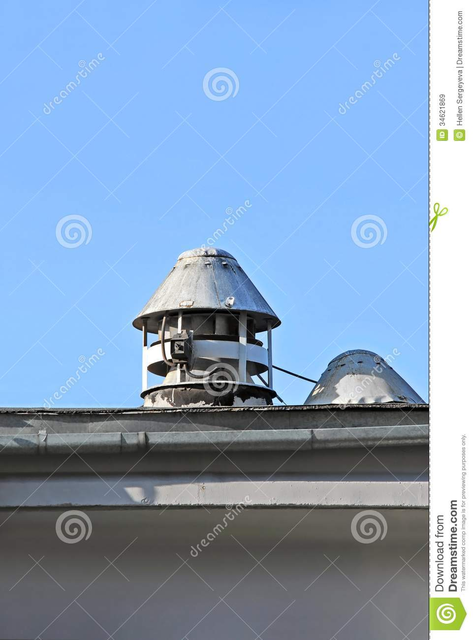 Factory Ventilation System Stock Image Image Of Business