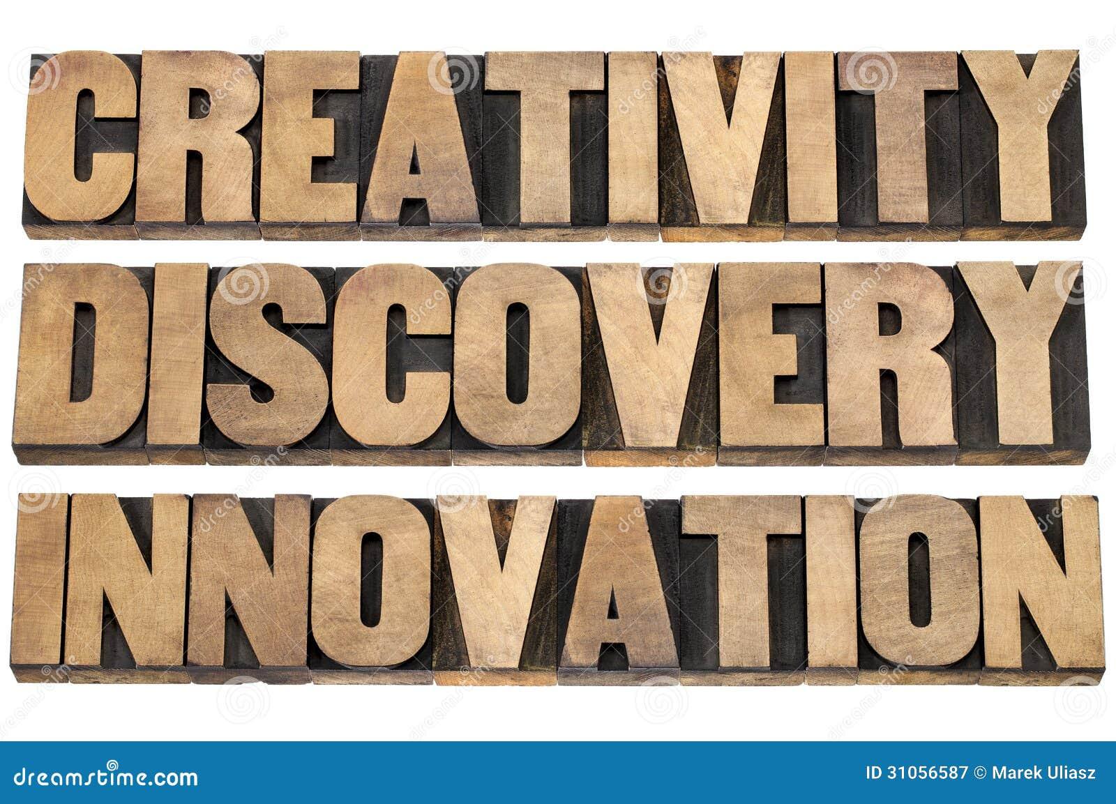 Faculdade criadora, descoberta, inovação