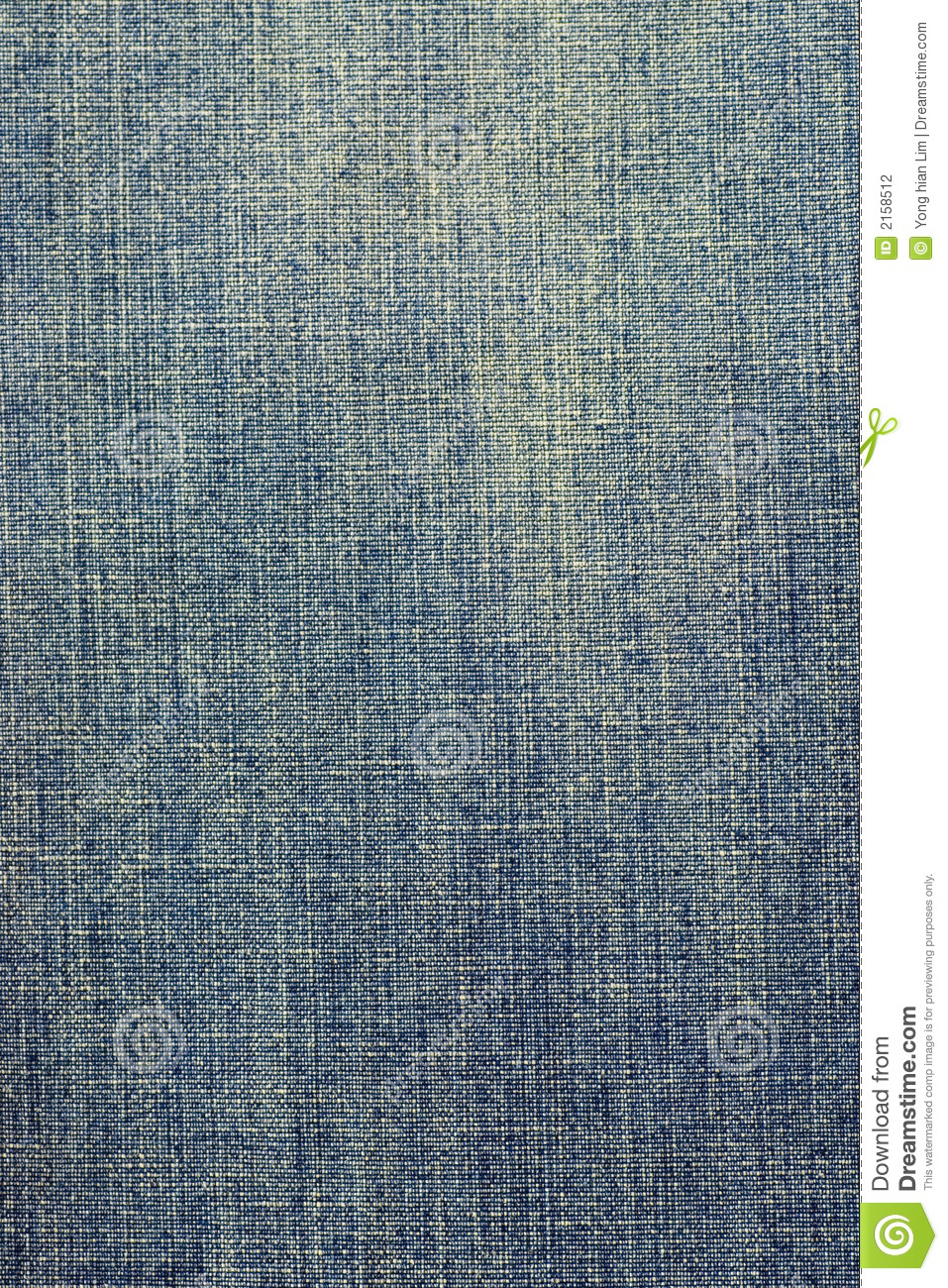 Faded denim fabric texture