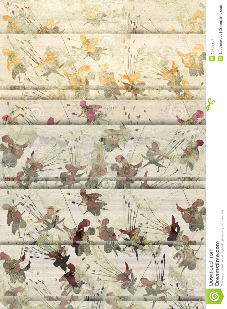faded grunge butterfly flower background royalty free stock photography