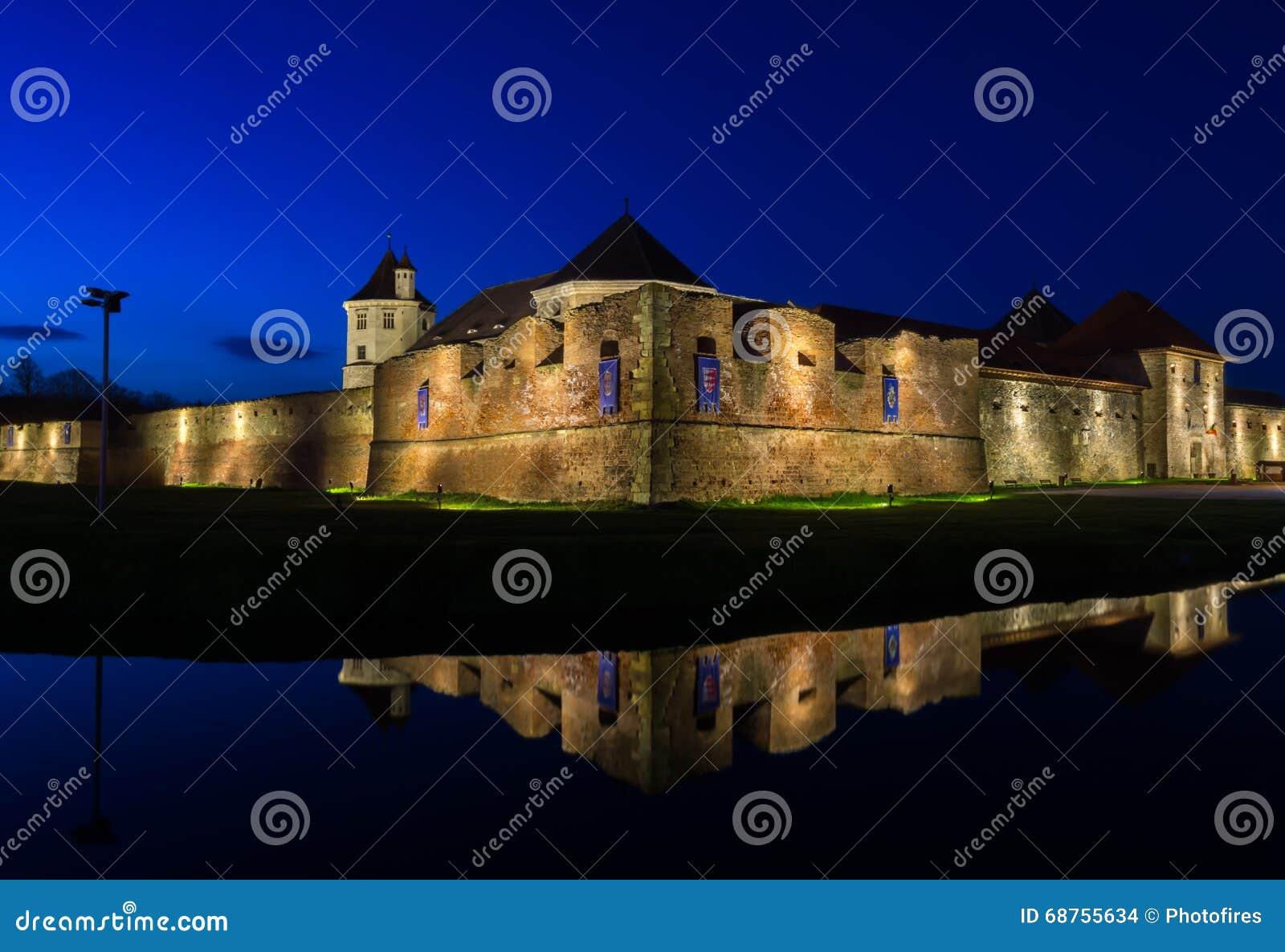Fagaras fästning, Brasov län, Rumänien