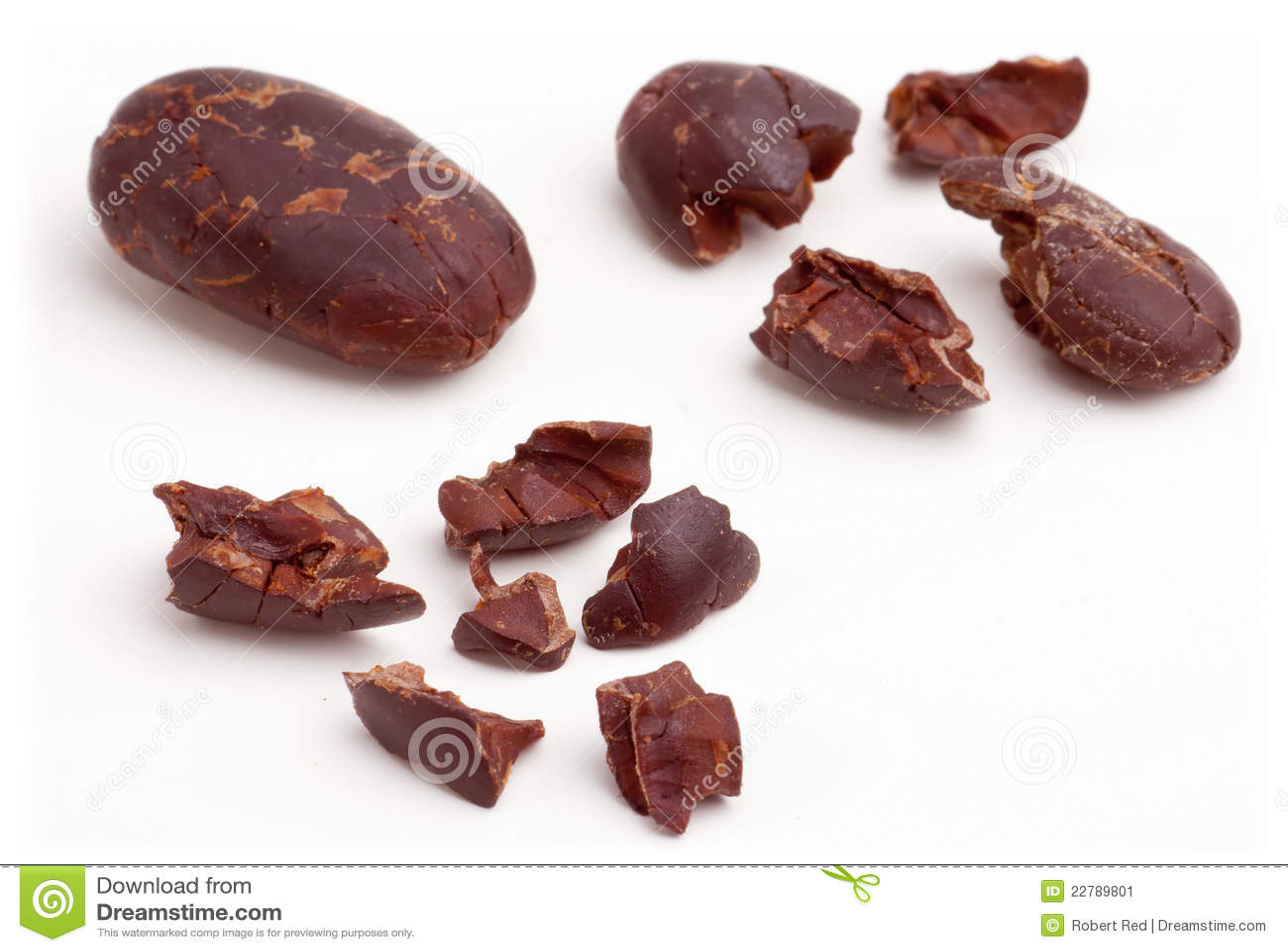 Fagioli del cacao.