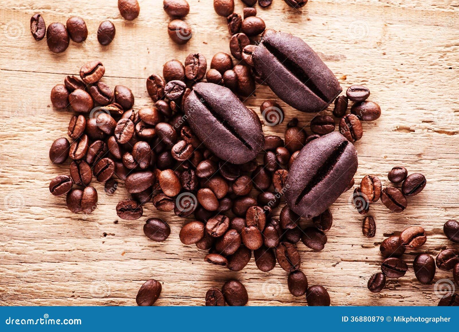 Download Fagioli di Coffe immagine stock. Immagine di caramelle - 36880879
