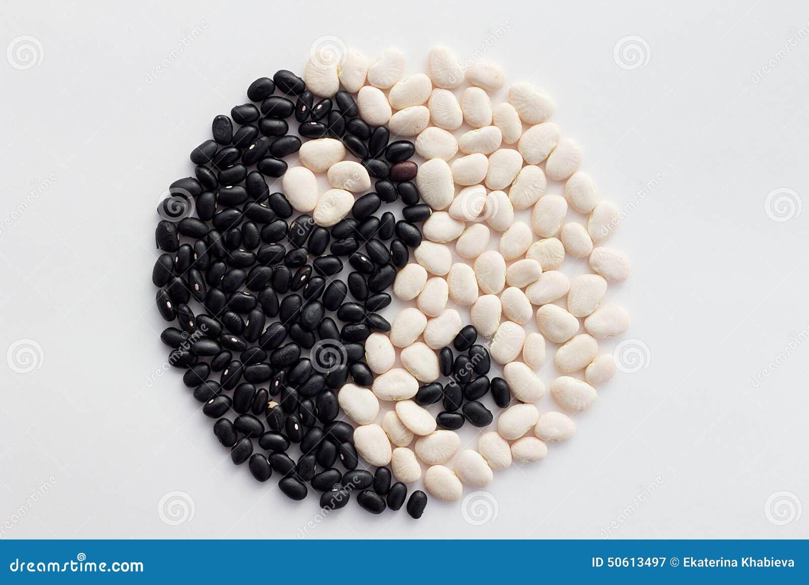 Fagioli di yang e di Yin