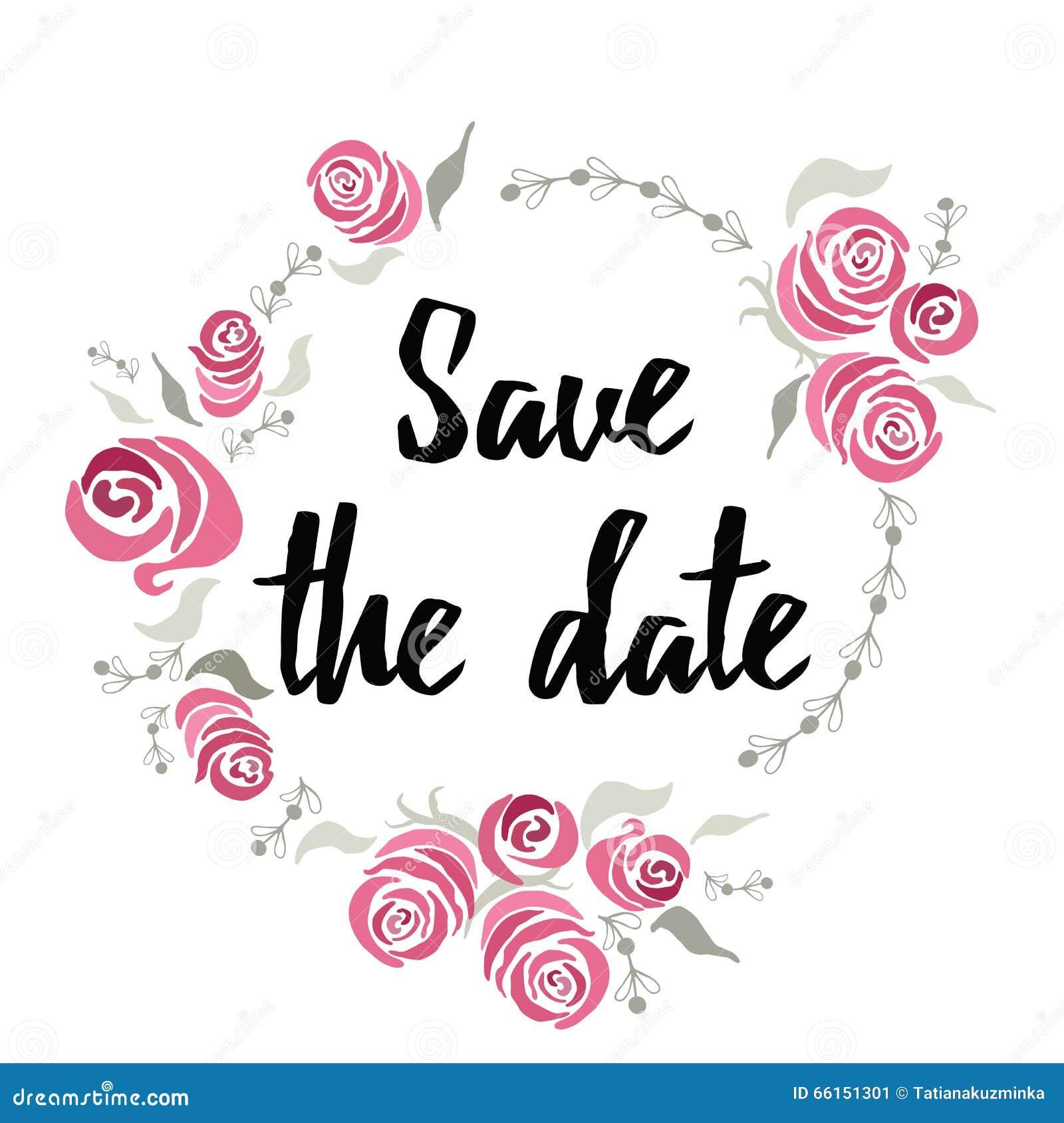 fahnen abwehr das datum gemacht auf tintenhandbeschriftung mit abstrakten blumen rosen gestalten. Black Bedroom Furniture Sets. Home Design Ideas