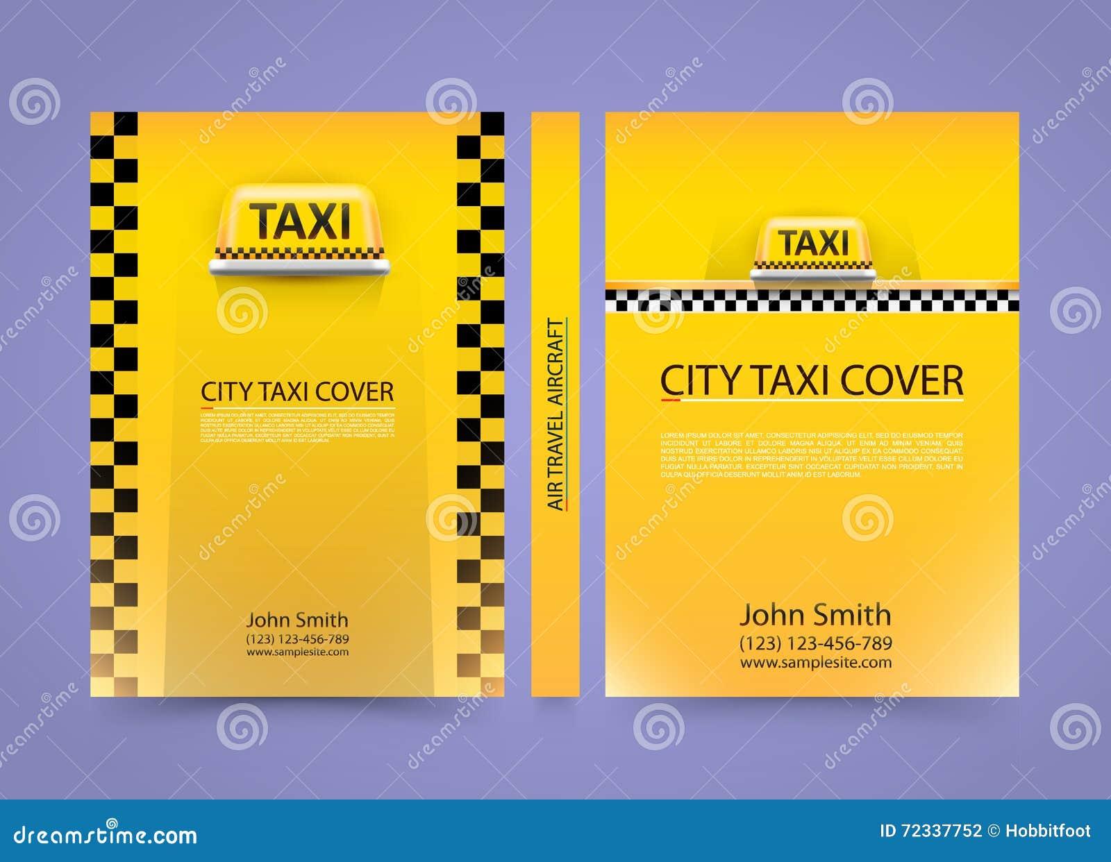 Fahren Sie Visitenkarte Verkehrsabdeckung Papier Der Größe