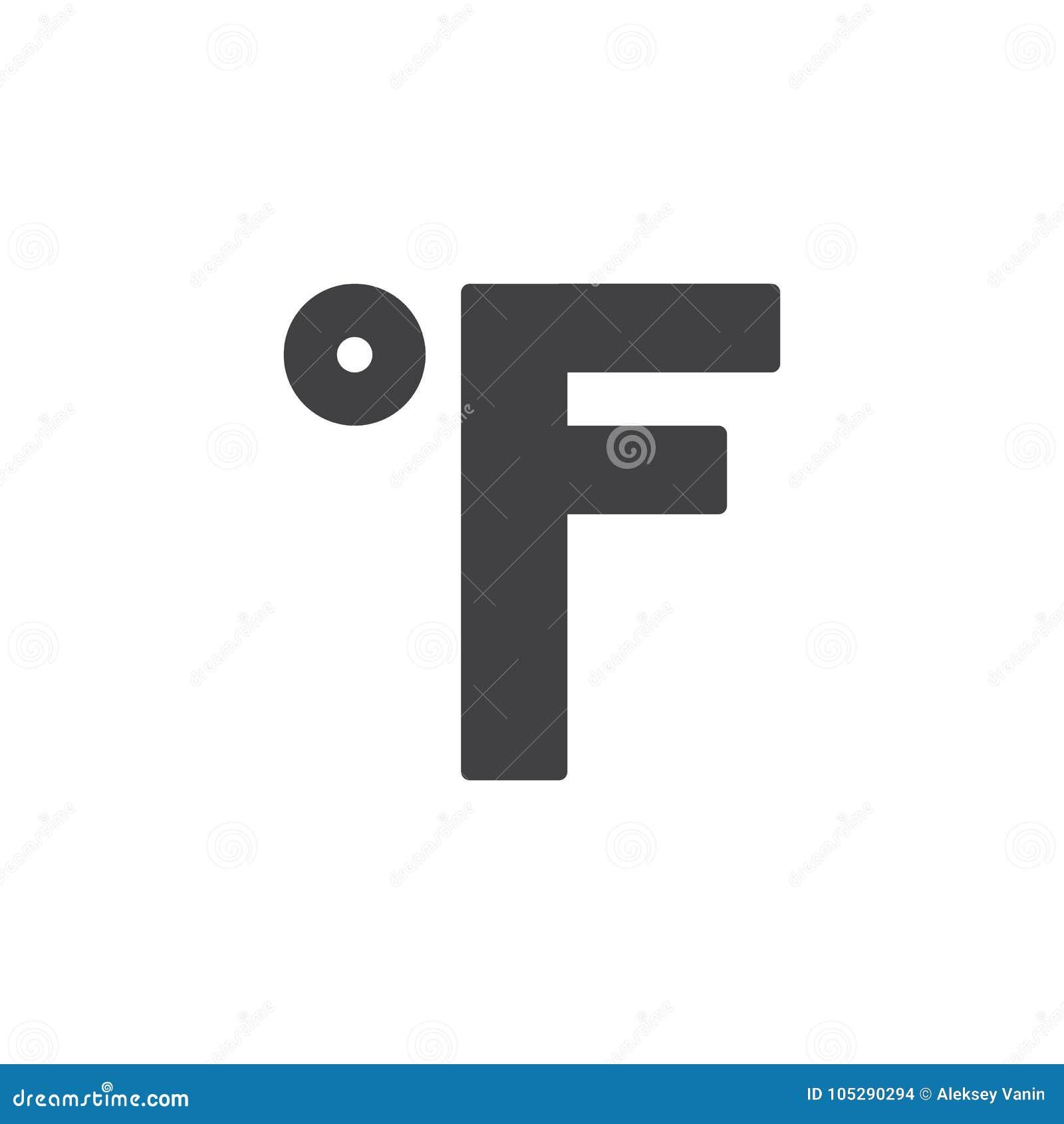 Fahrenheit degrees filled outline icon stock vector illustration fahrenheit degrees filled outline icon biocorpaavc Choice Image
