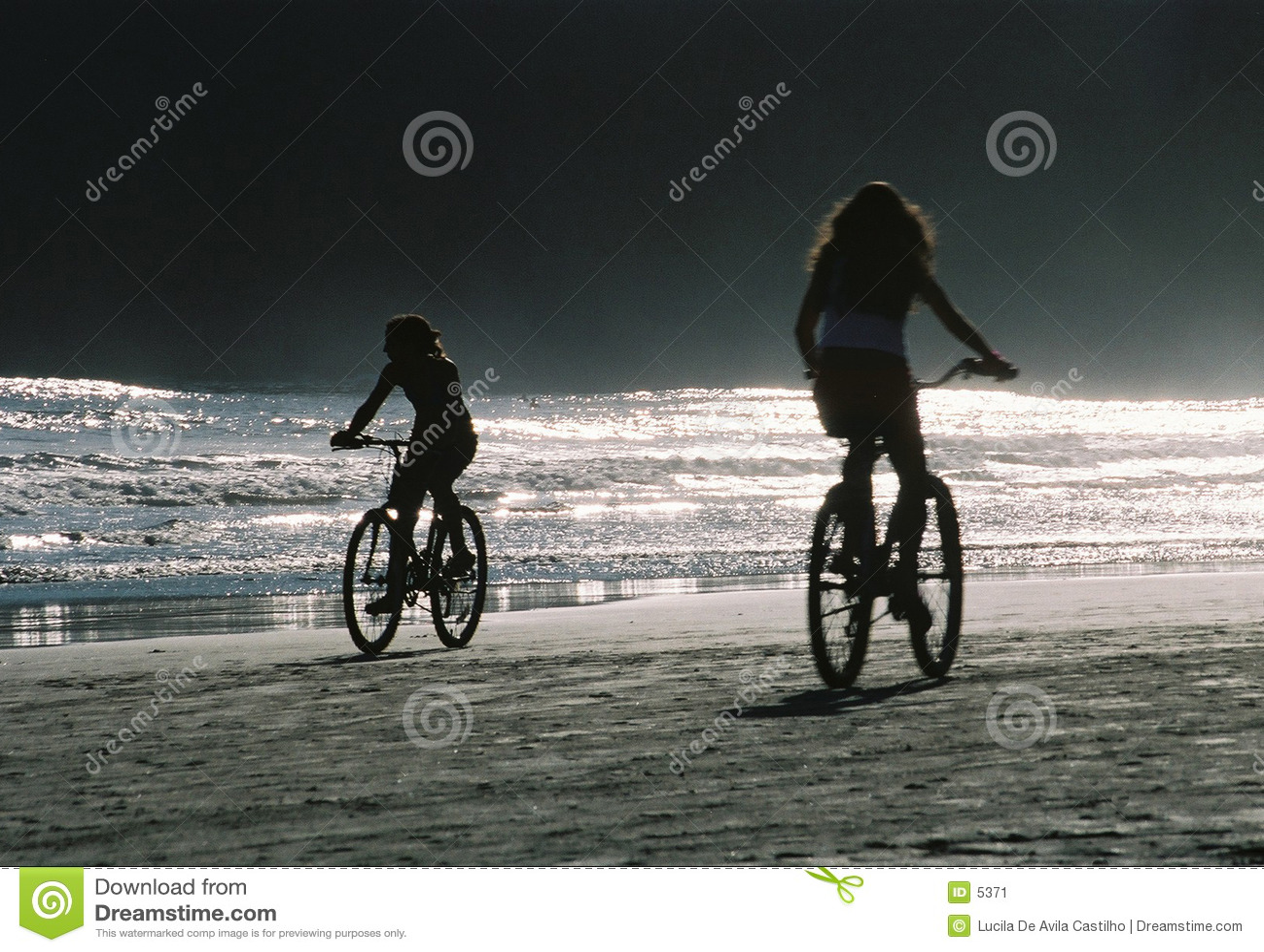 Fahrräder am Nachmittag