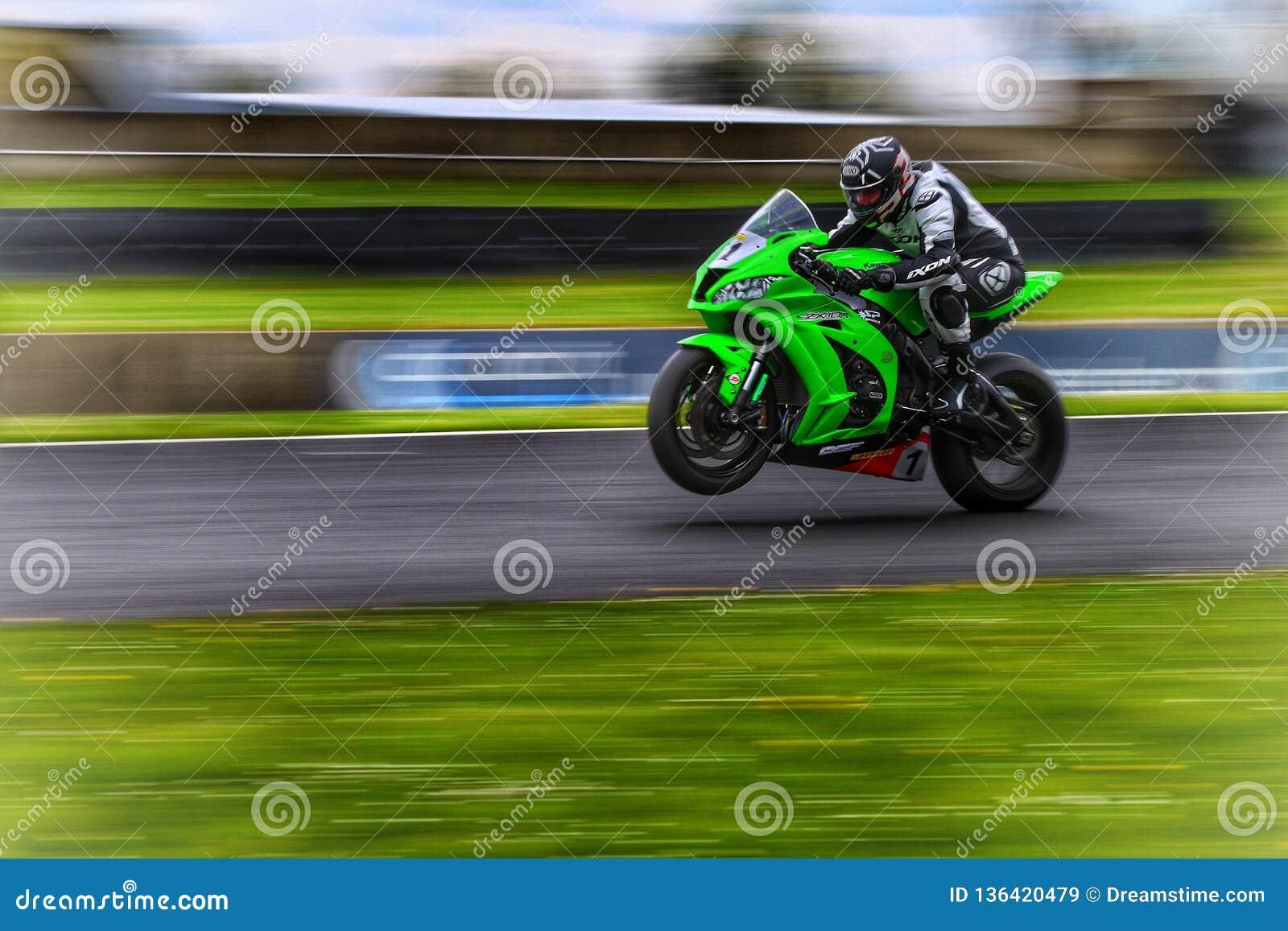 Fahrrad bei Le Mans