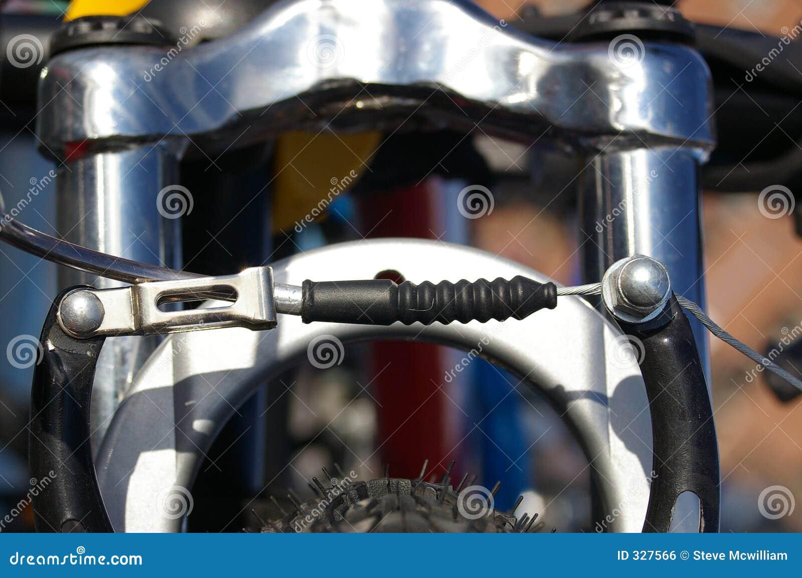 fahrrad bremse ziehen 01 stockfoto bild von bremse. Black Bedroom Furniture Sets. Home Design Ideas