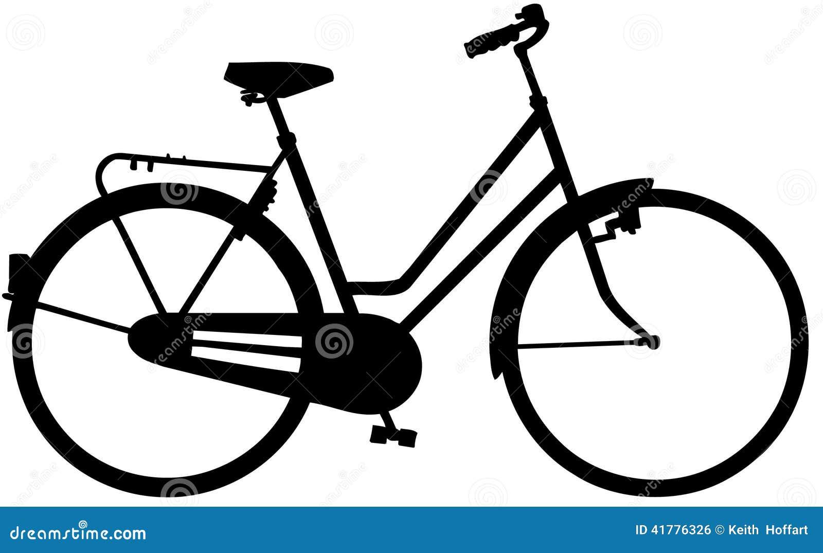 Fahrrad-Fahrradkarikatur Vektor Clipart Vektor Abbildung - Bild ...
