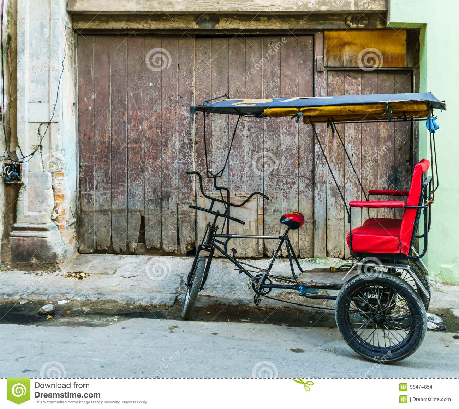 Fahrrad-Taxi Havana