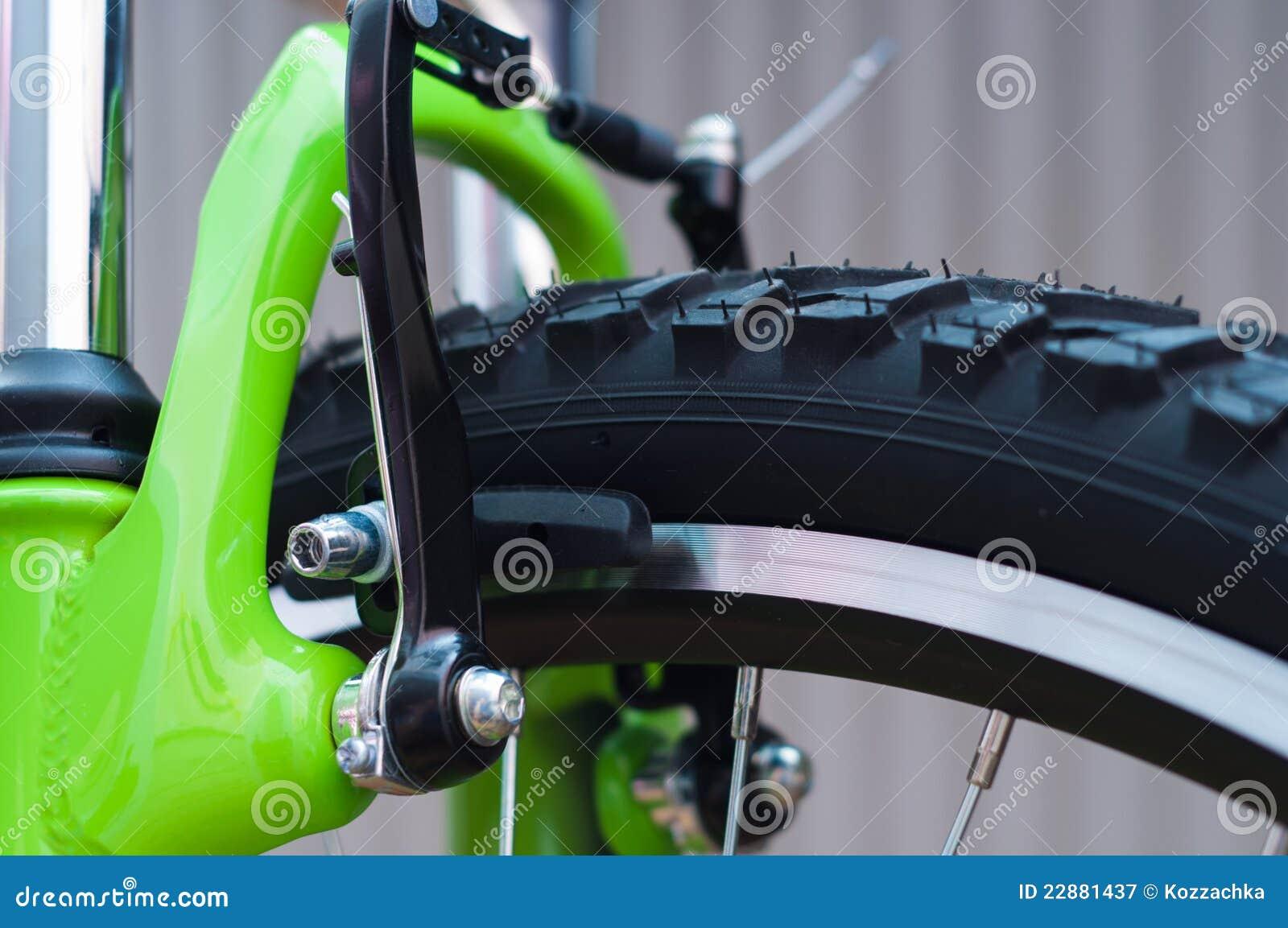 Fahrradbremsen stockbild. Bild von berg, nahaufnahme - 22881437