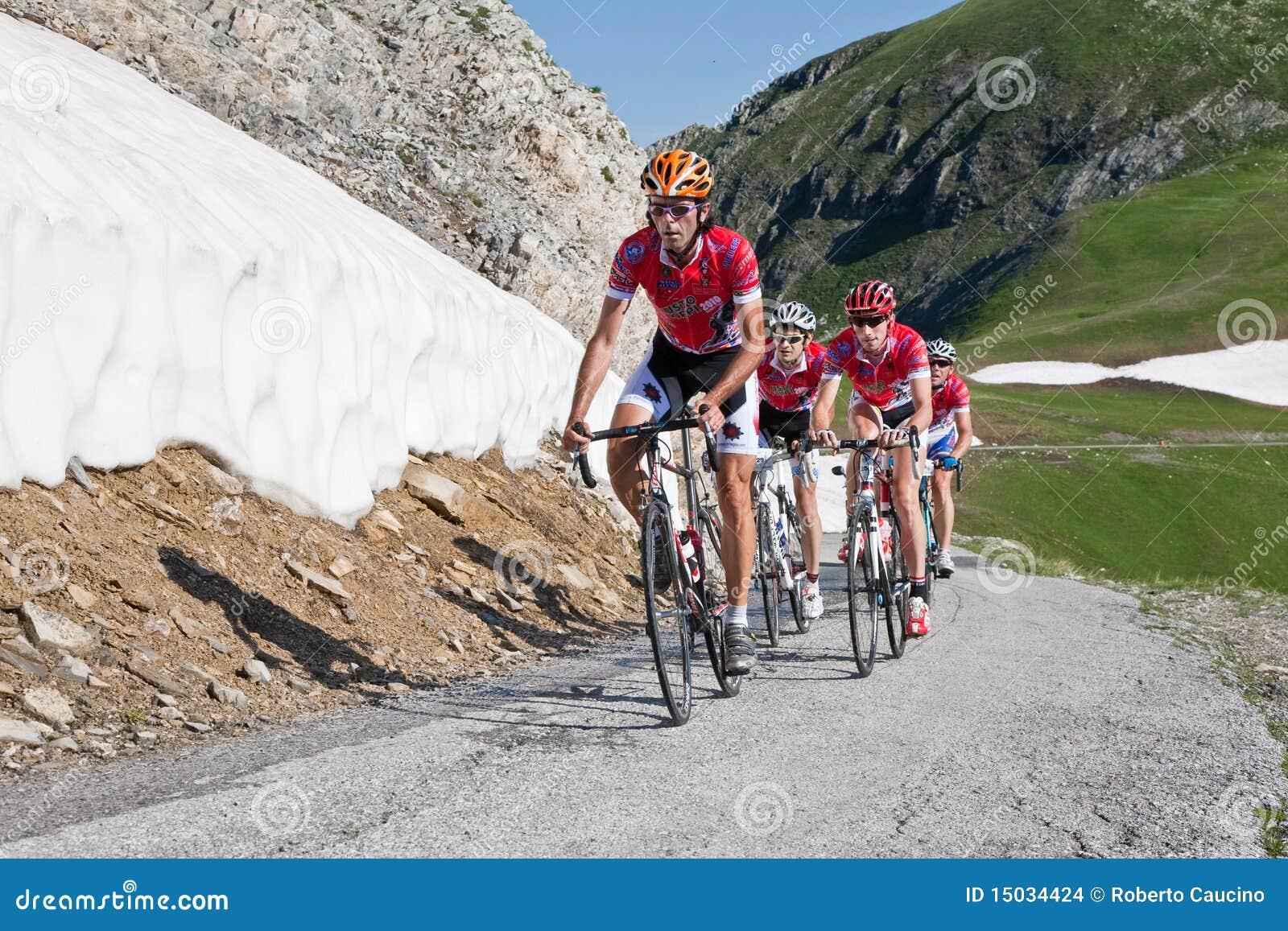 Fahrradstraßenlaufen