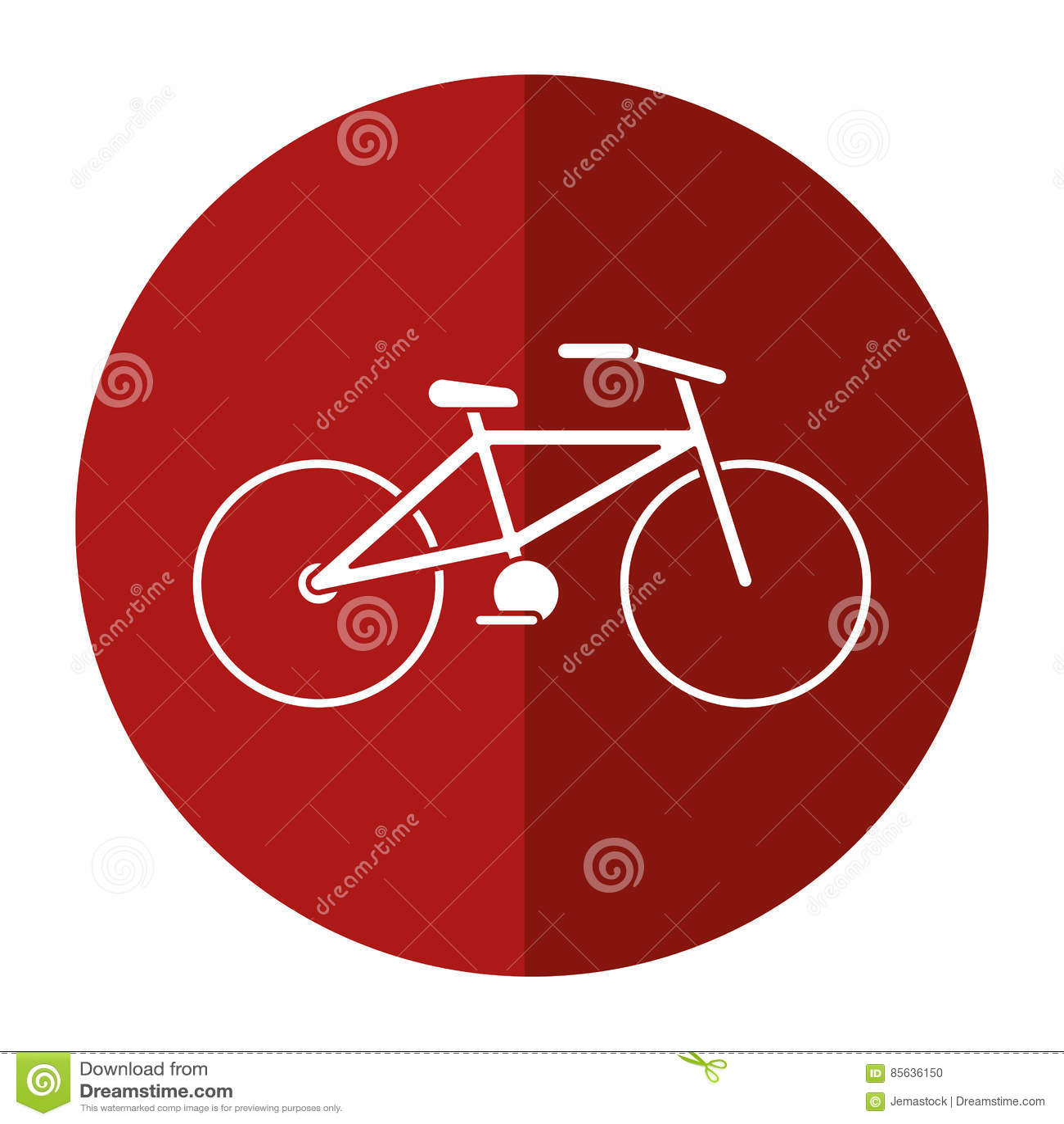Fahrradtransport-Ökologieschattenkreis