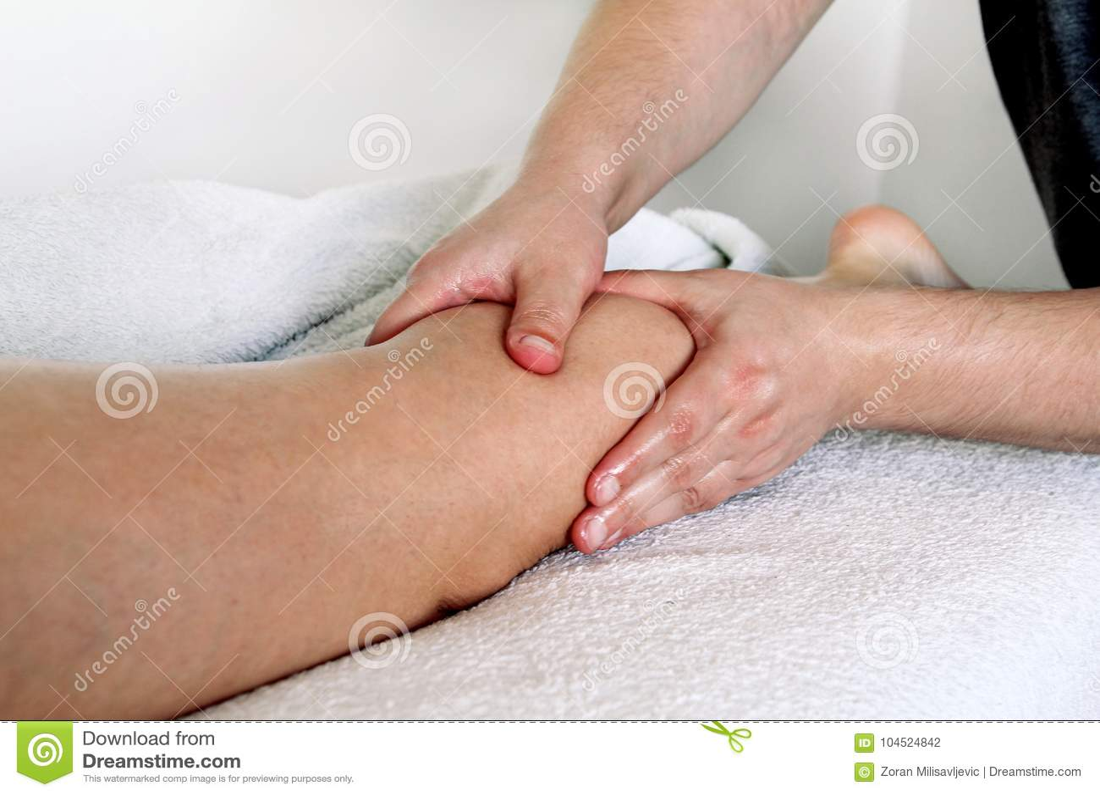 Fahrwerkbein-Massage