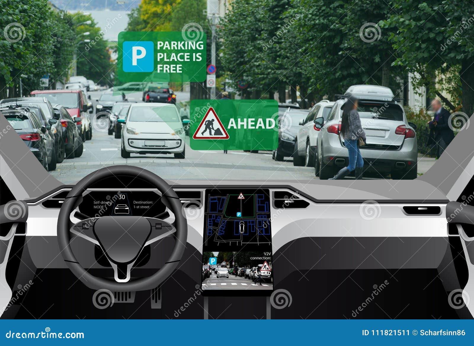 Fahrzeug zur Fahrzeugkommunikation