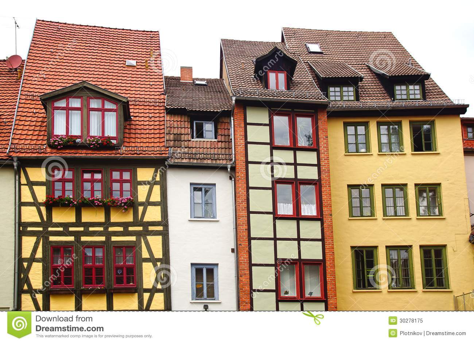 Fahverk房子在埃福特,德国
