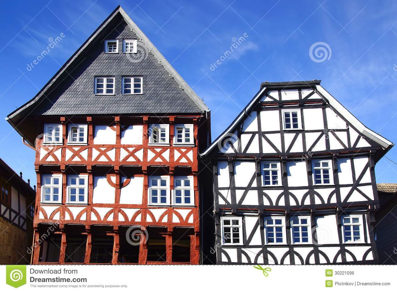 Fahverk House In The Fritzlar Royalty Free Stock Image