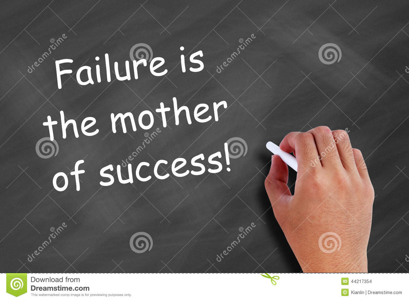 Essay on failure is the mother of success