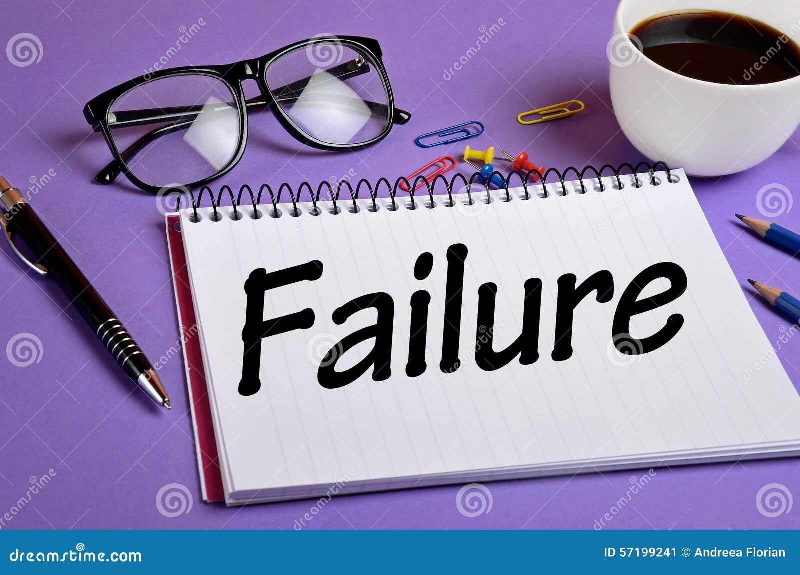 Failure Word Stock Photo - Image: 57199241