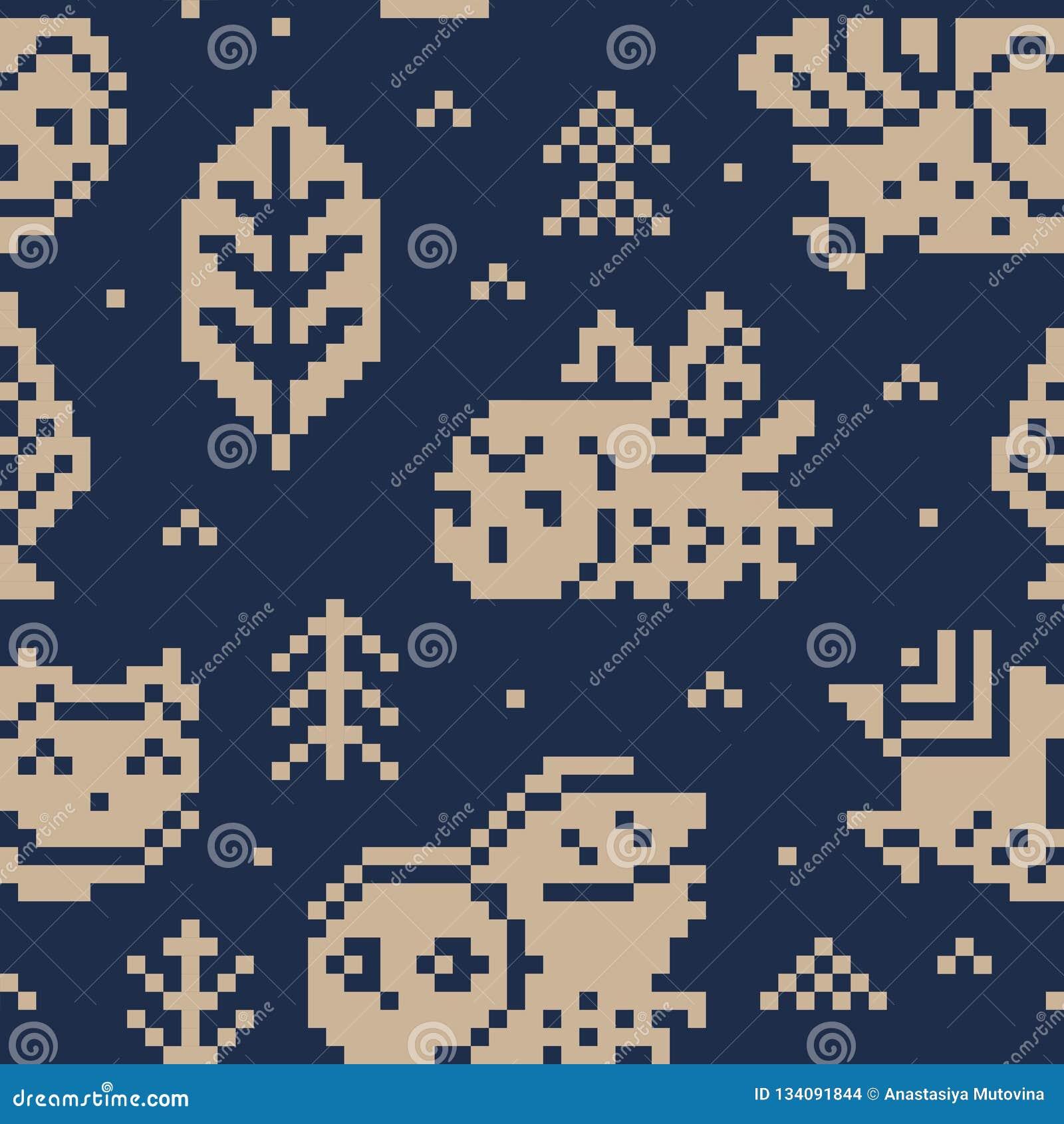 d79a17cbec7194 Fair isle christmas print with owls vector illustration stock jpg 1600x1689 Fair  isle pattern print
