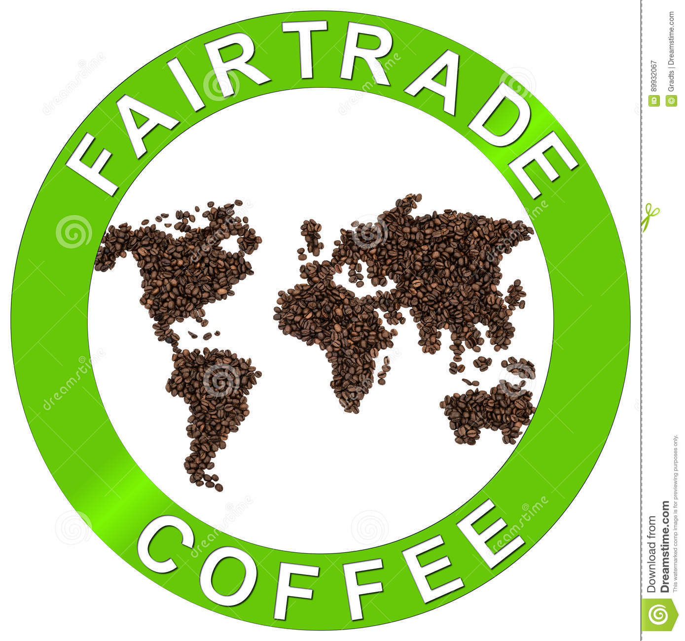 Fair-trade coffee